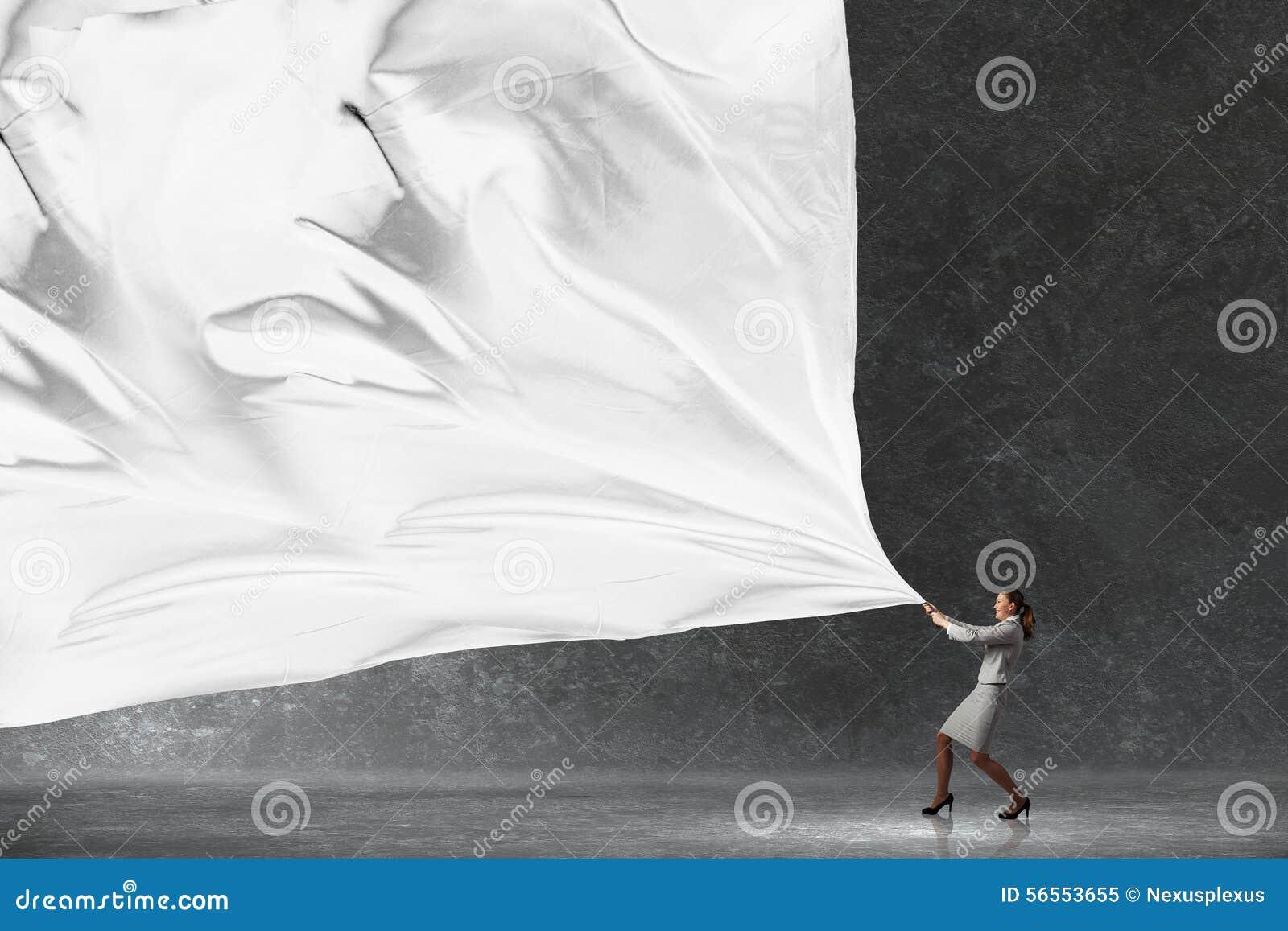 Download Έμβλημα υφάσματος τραβήγματος επιχειρηματιών Στοκ Εικόνα - εικόνα από προσδιορισμός, ηγεσία: 56553655