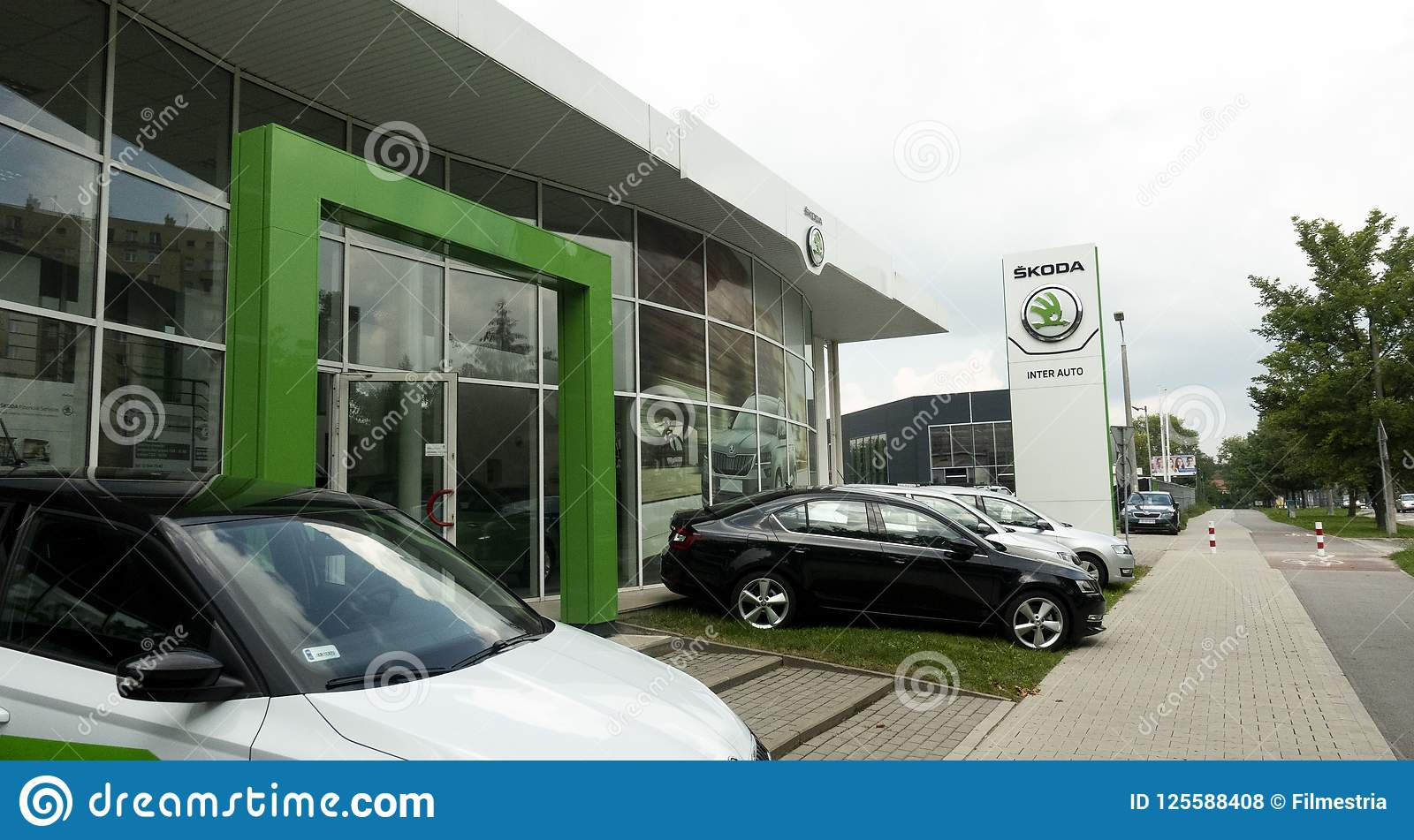 Έμπορος αυτοκινήτων Skoda
