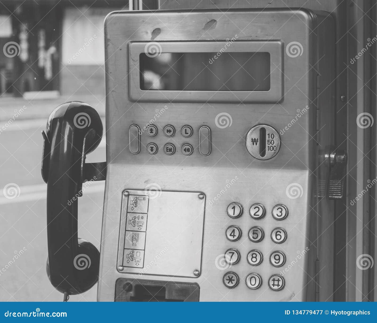 Ένας δημόσιος τηλεφωνικός σταθμός, Νότια Κορέα