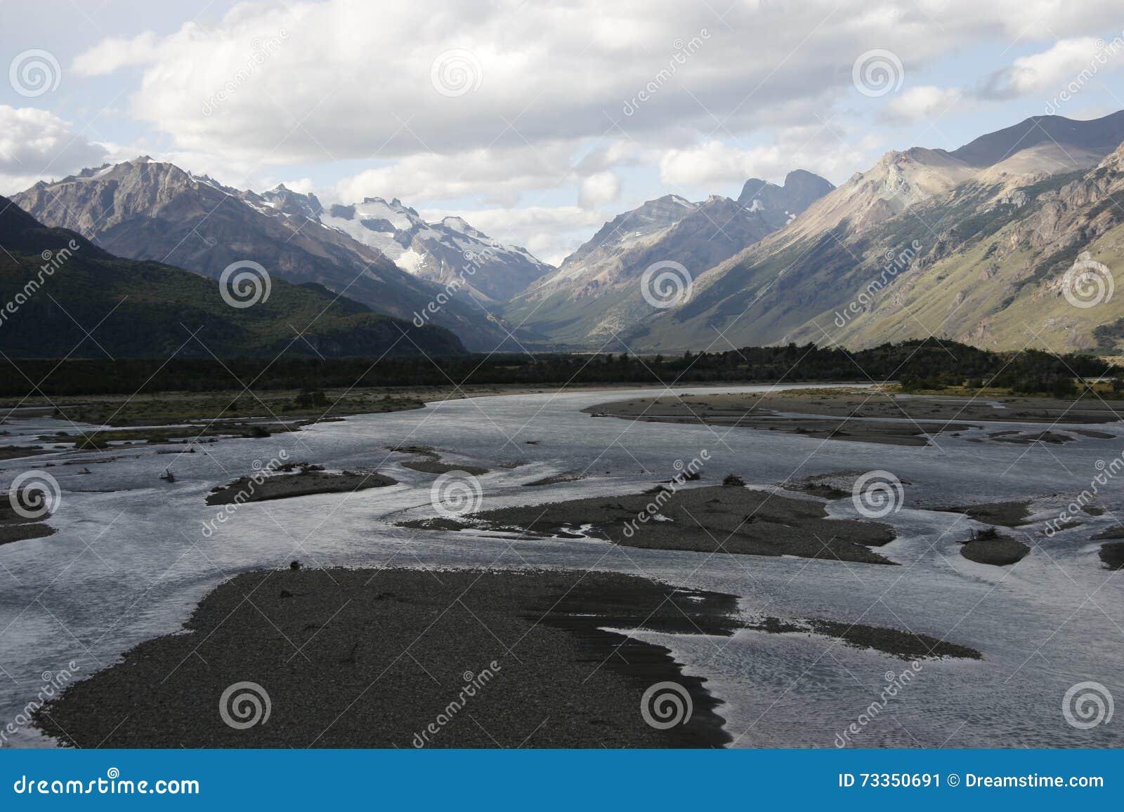 Ένας μεγάλος ποταμός στην Παταγωνία