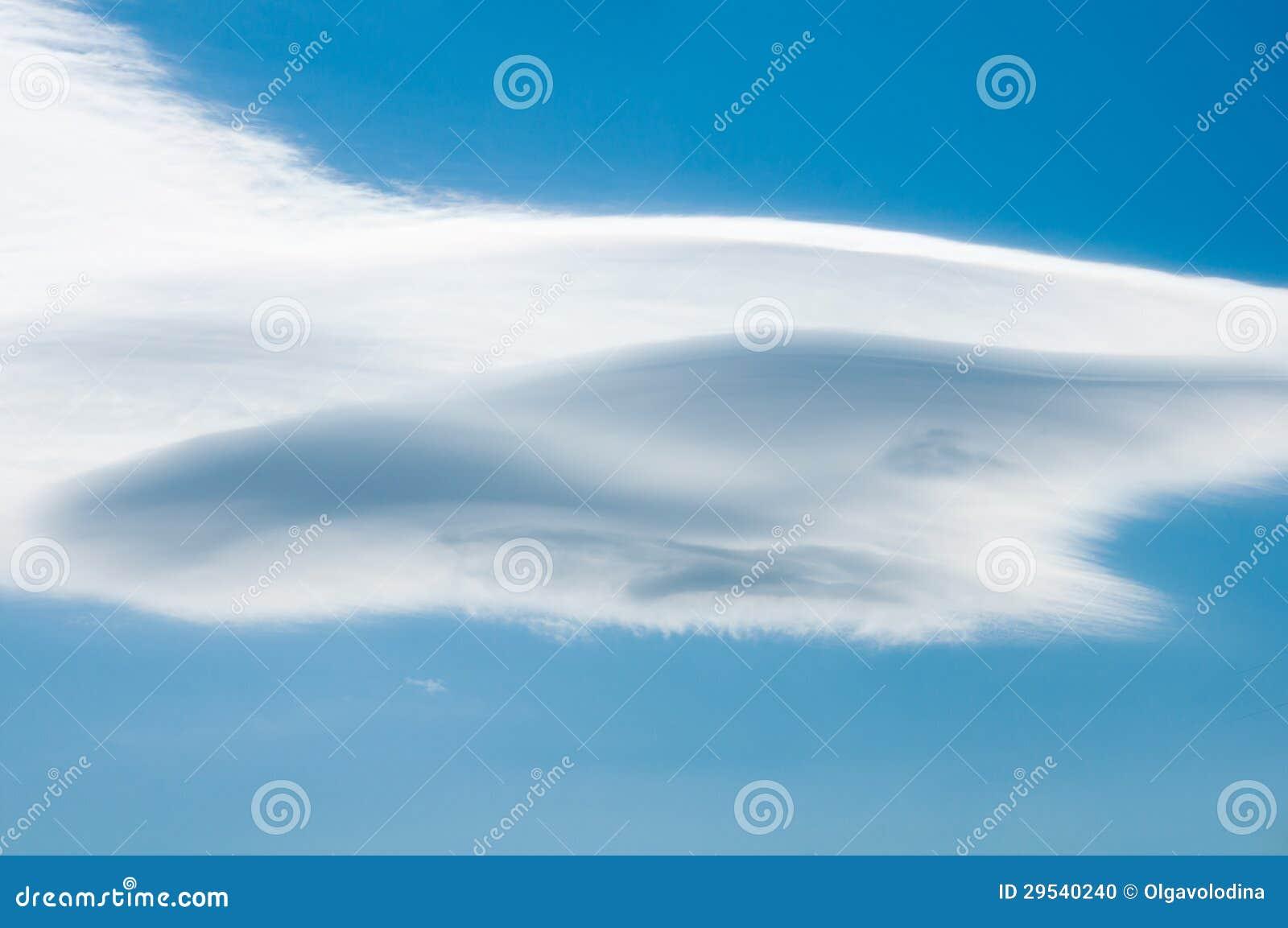 Ένας όμορφος νεφελώδης ουρανός