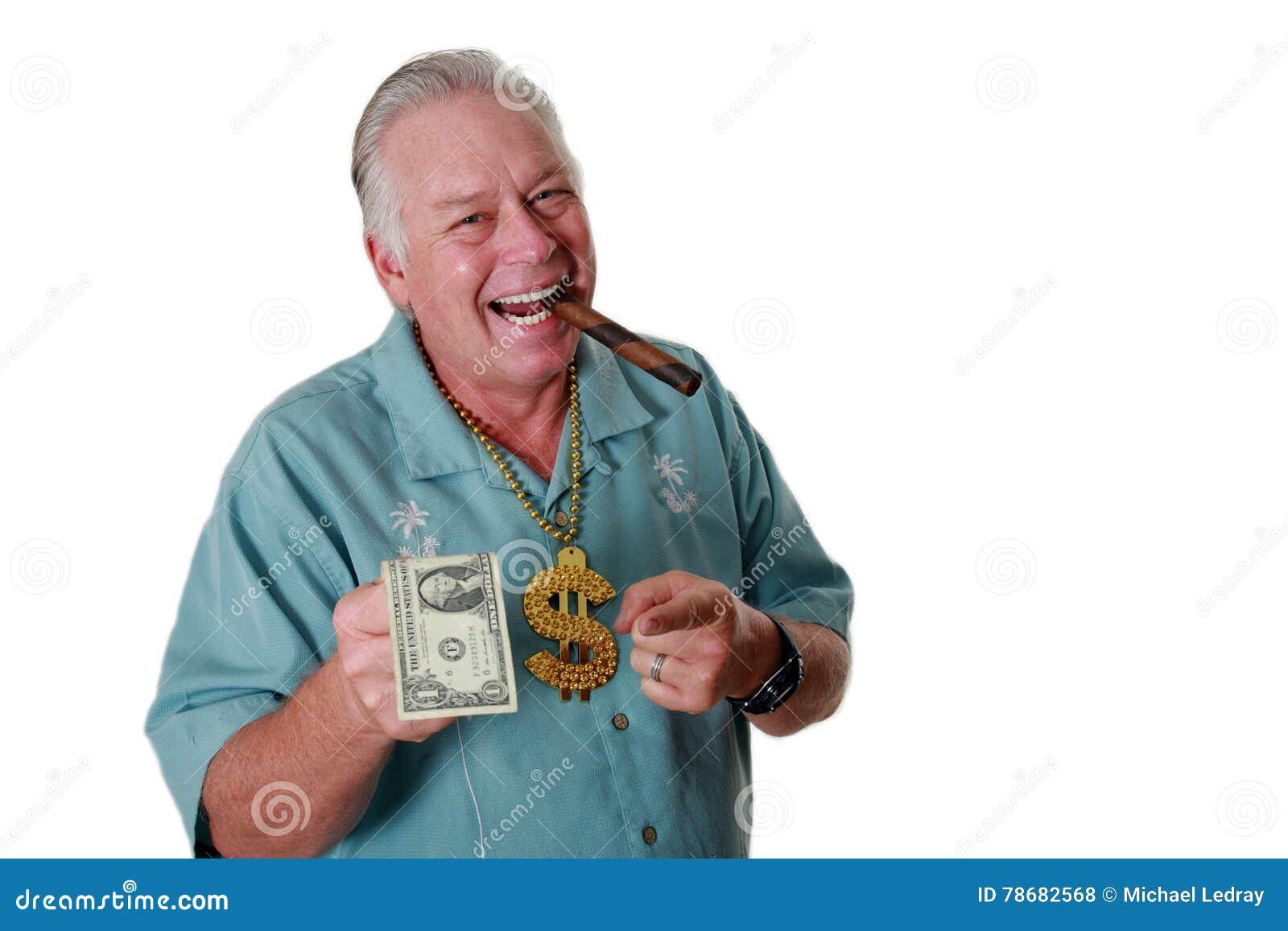 Ένα άτομο με τα χρήματα Ένα άτομο κερδίζει τα χρήματα Ένα άτομο έχει τα χρήματα Ένα άτομο ρουθουνίζει τα χρήματα Ένα άτομο αγαπά