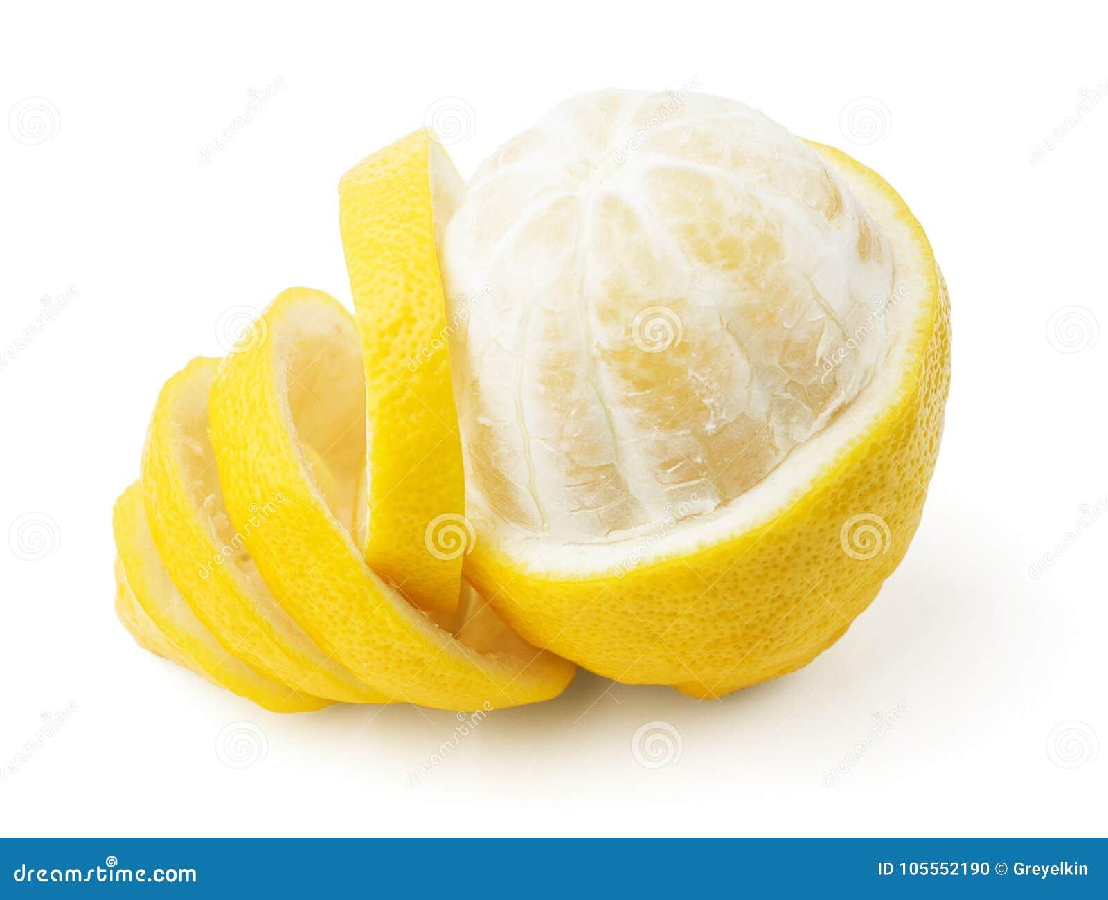 Ένα λεμόνι και μια φλούδα