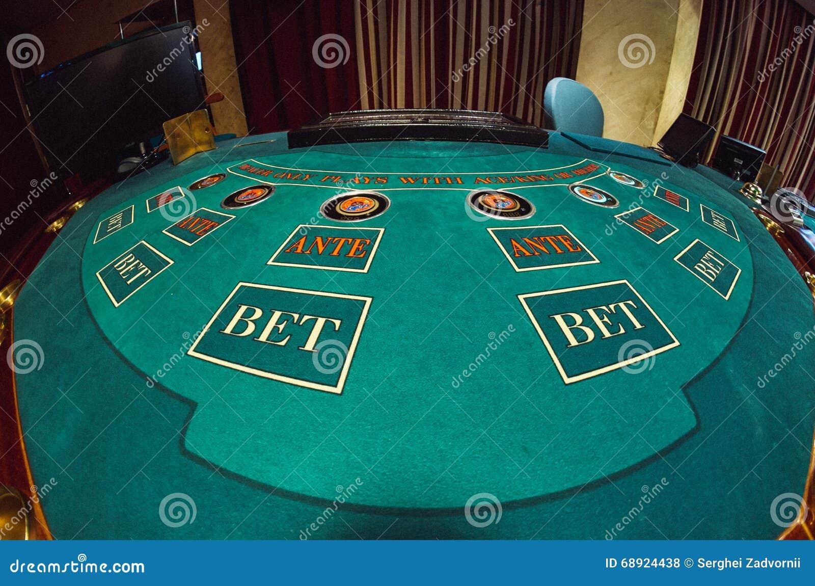 Ένα μέρος του πίνακα πόκερ