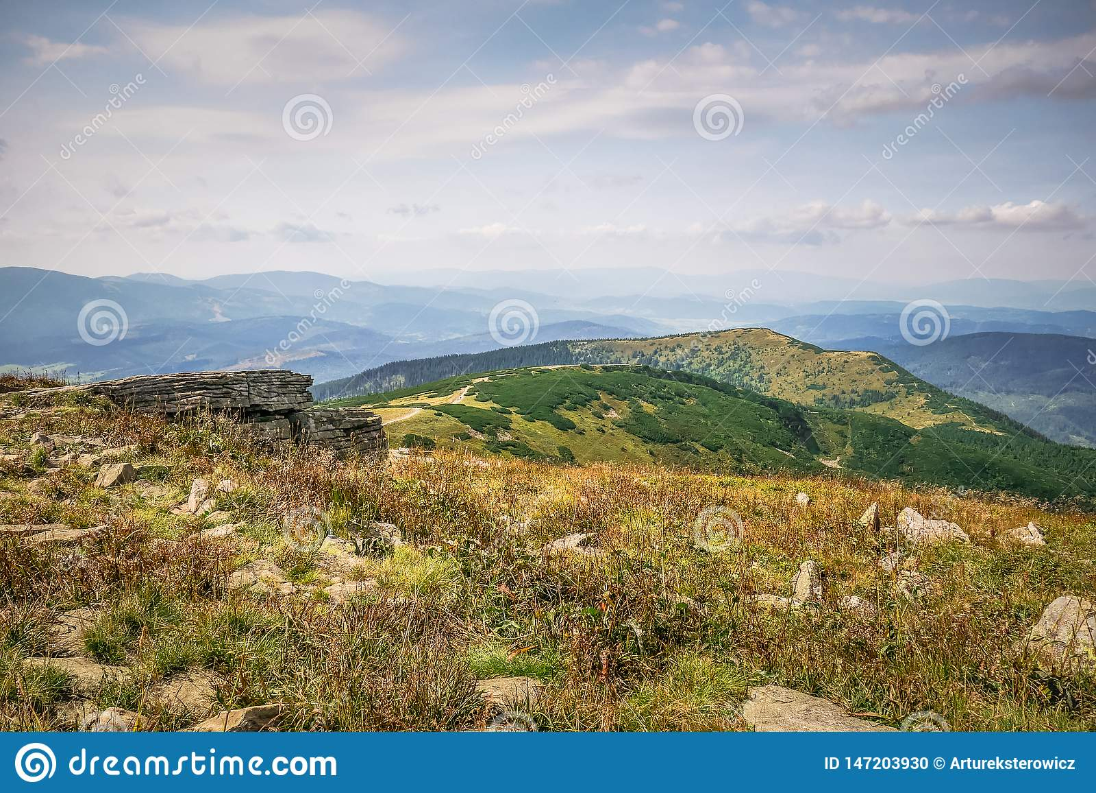 Ένα ξέφωτο βουνών το φθινόπωρο