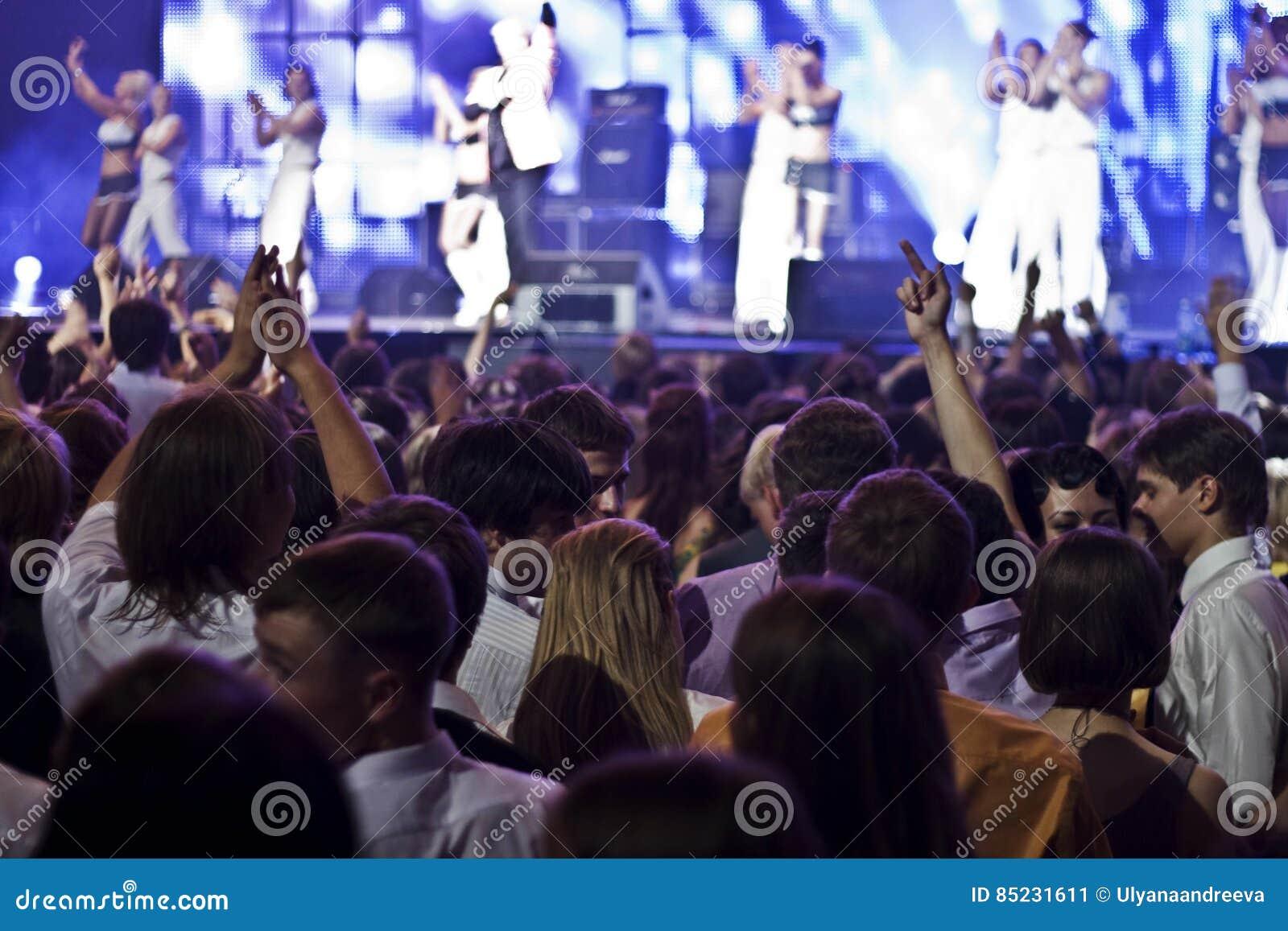 Ένα πλήθος στη συναυλία