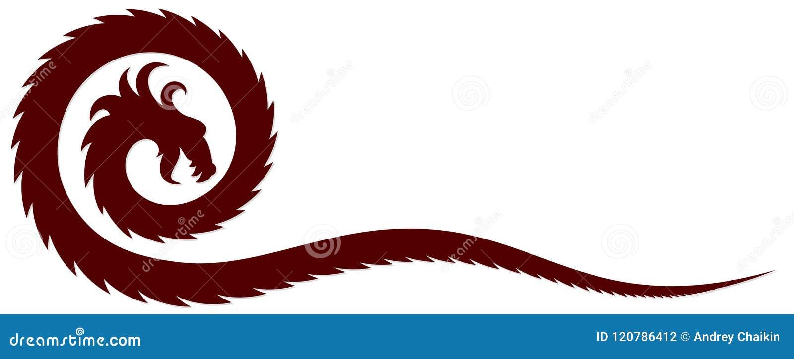 Ένα σύμβολο δράκων
