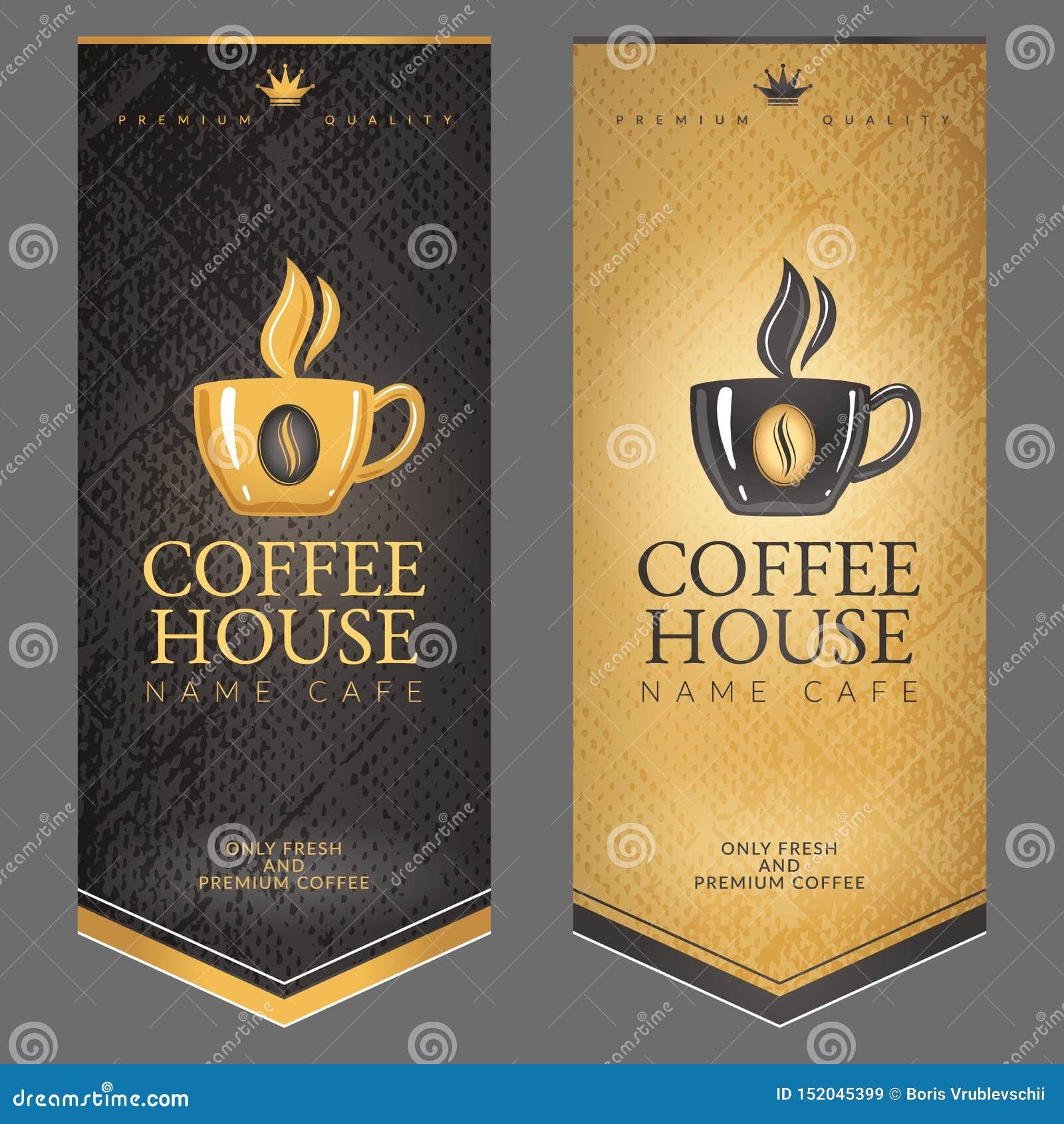 Ένα σύνολο επιλογών για το σπίτι καφέ