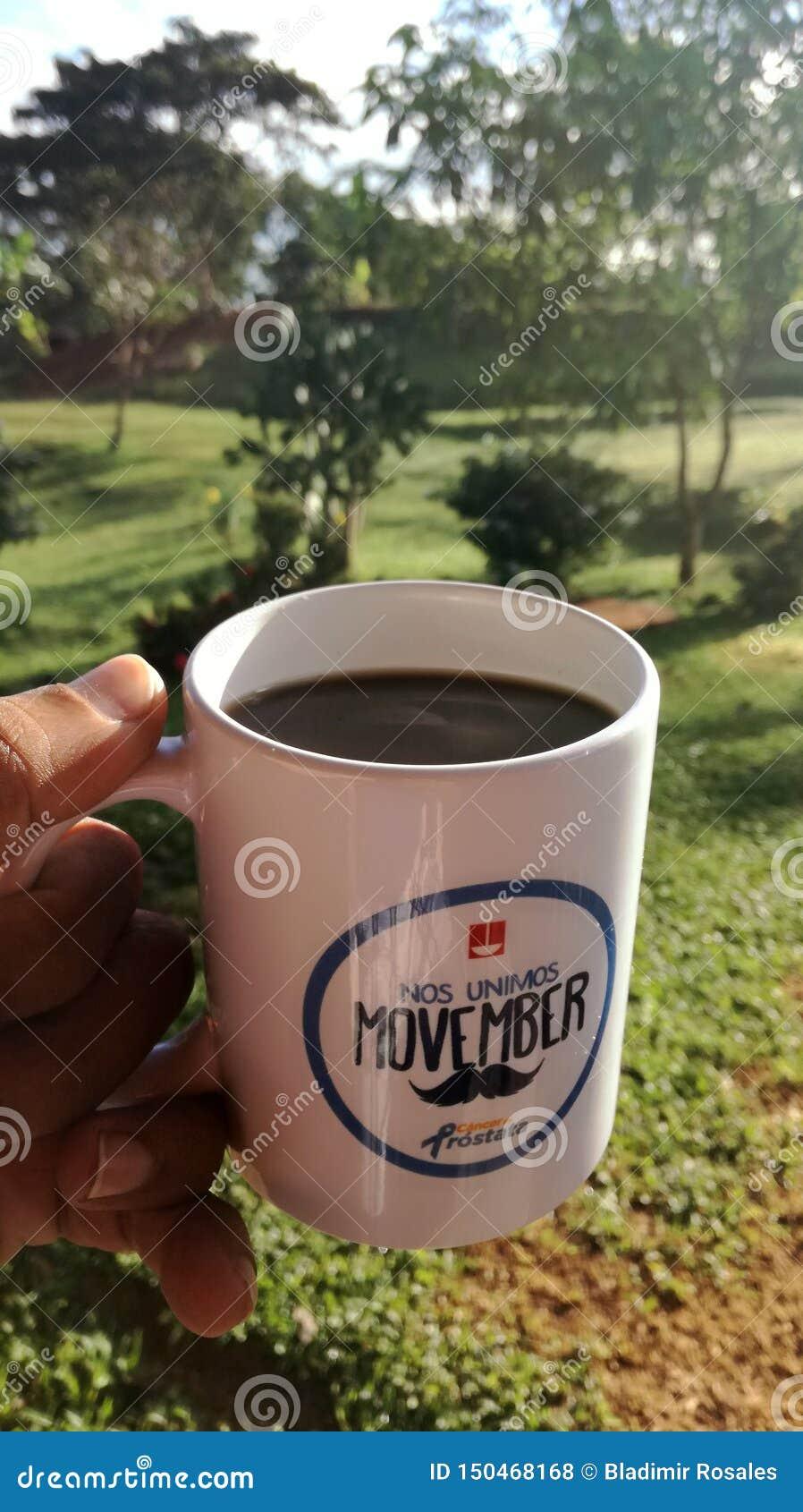 Ένα φλιτζάνι του καφέ