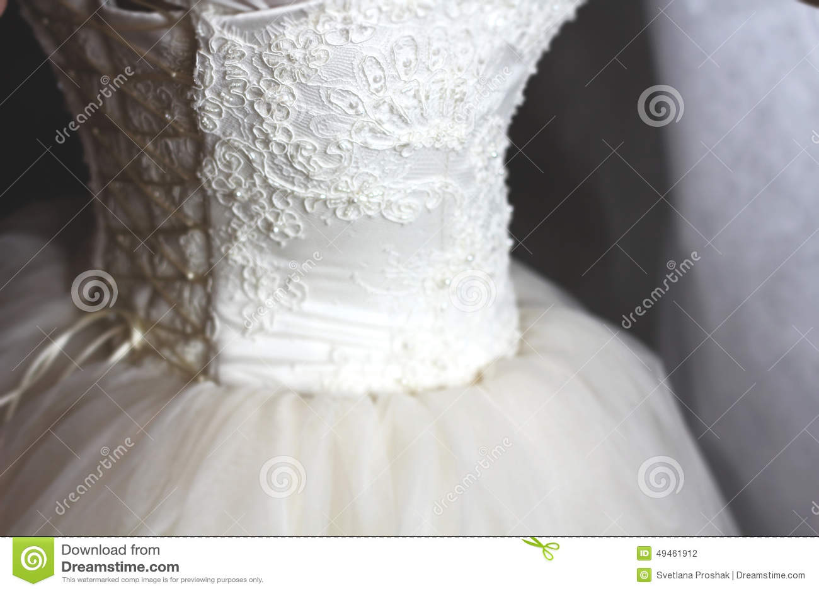 Ένα weding φόρεμα