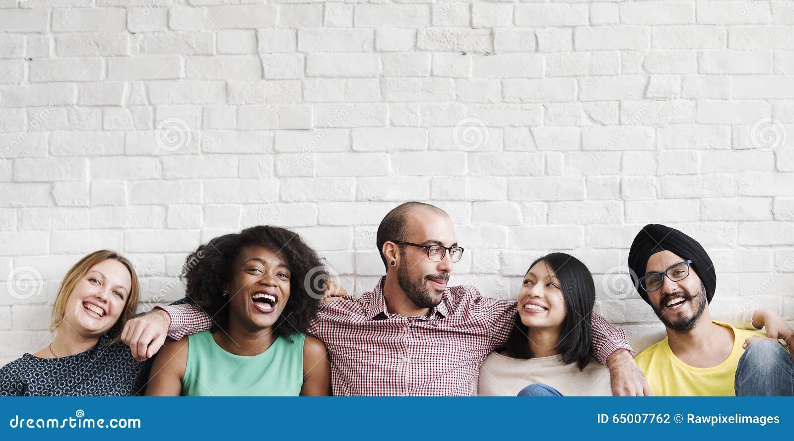 Έννοια έθνους Hipster ευτυχίας ομαδικής εργασίας ελεύθερου χρόνου