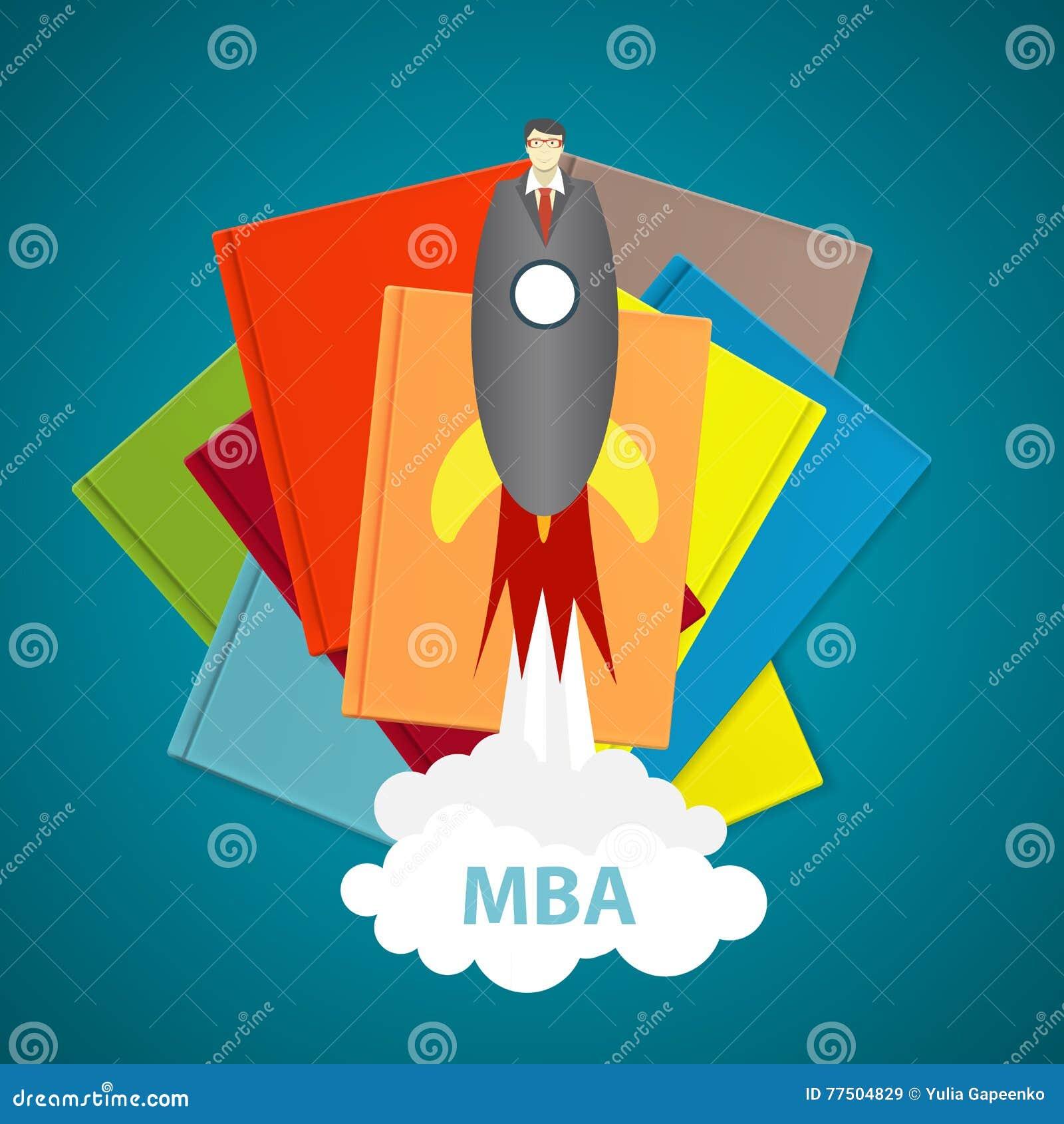 Έννοια επιχειρησιακής MBA εκπαίδευσης Τάσεις και καινοτομία στο educati