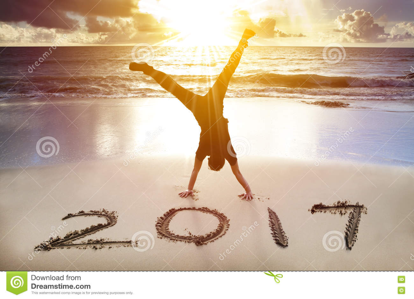 Έννοια καλής χρονιάς 2017