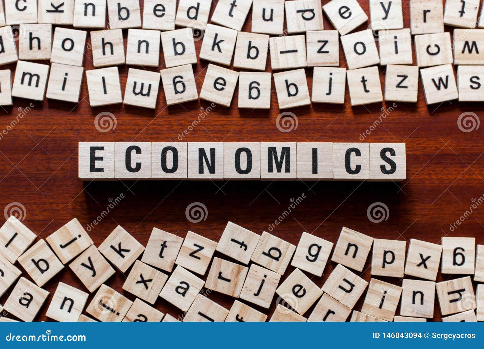 Έννοια λέξης οικονομικών