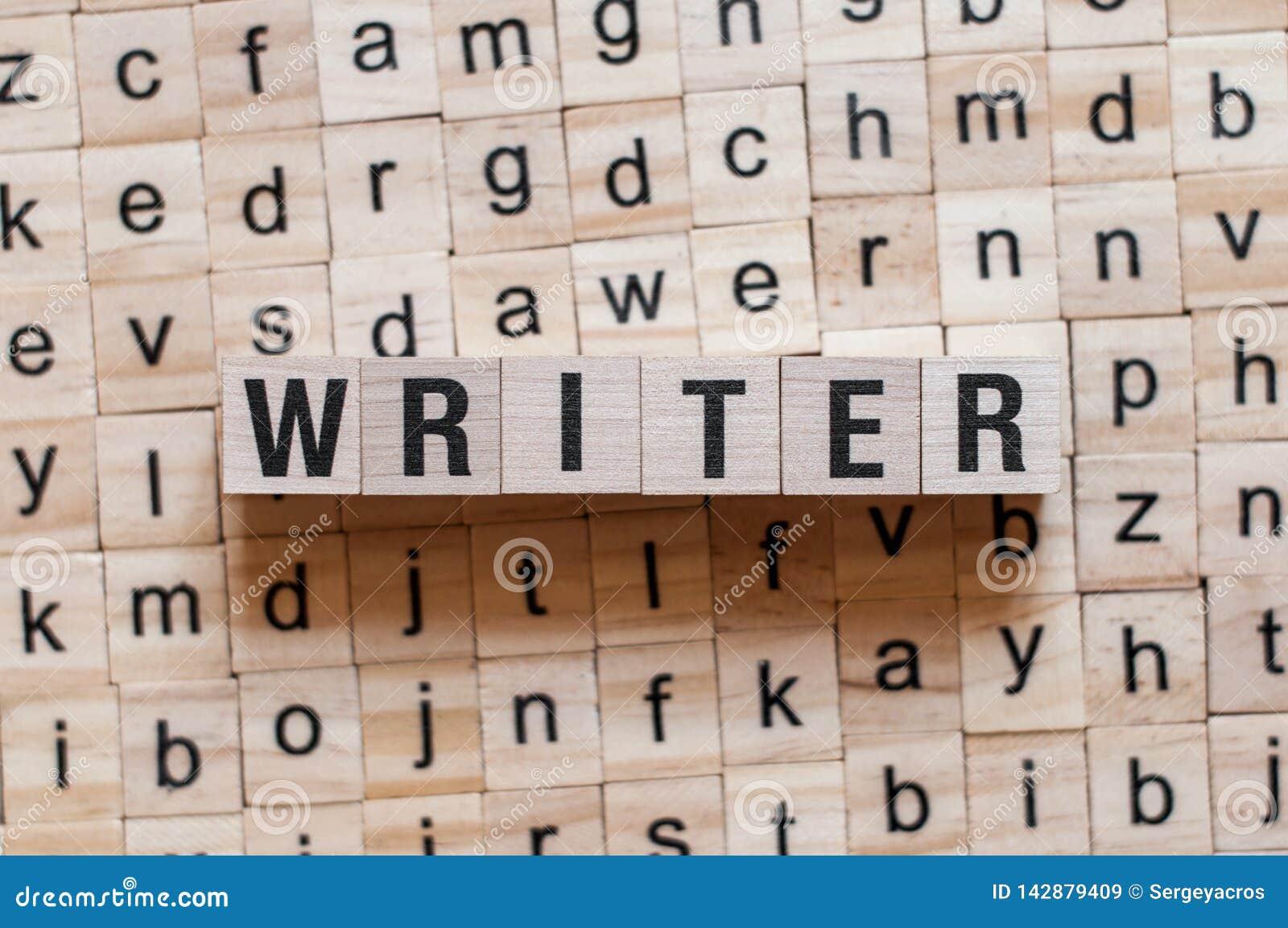 Έννοια λέξης συγγραφέων