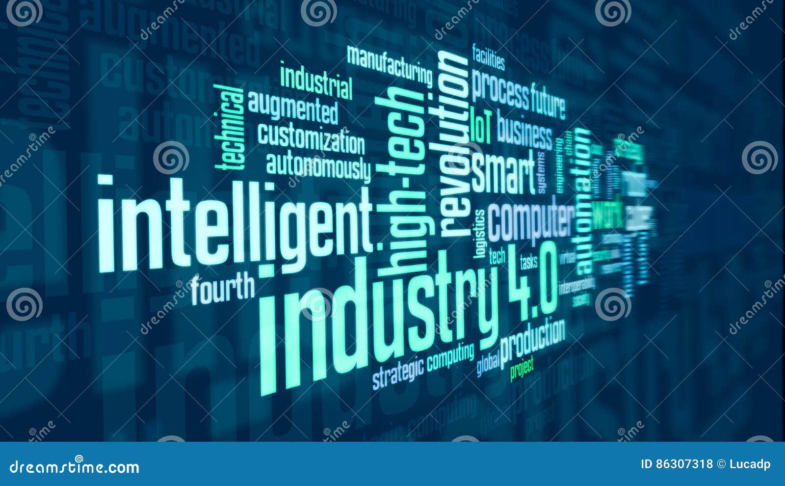 Έννοια της βιομηχανίας 4