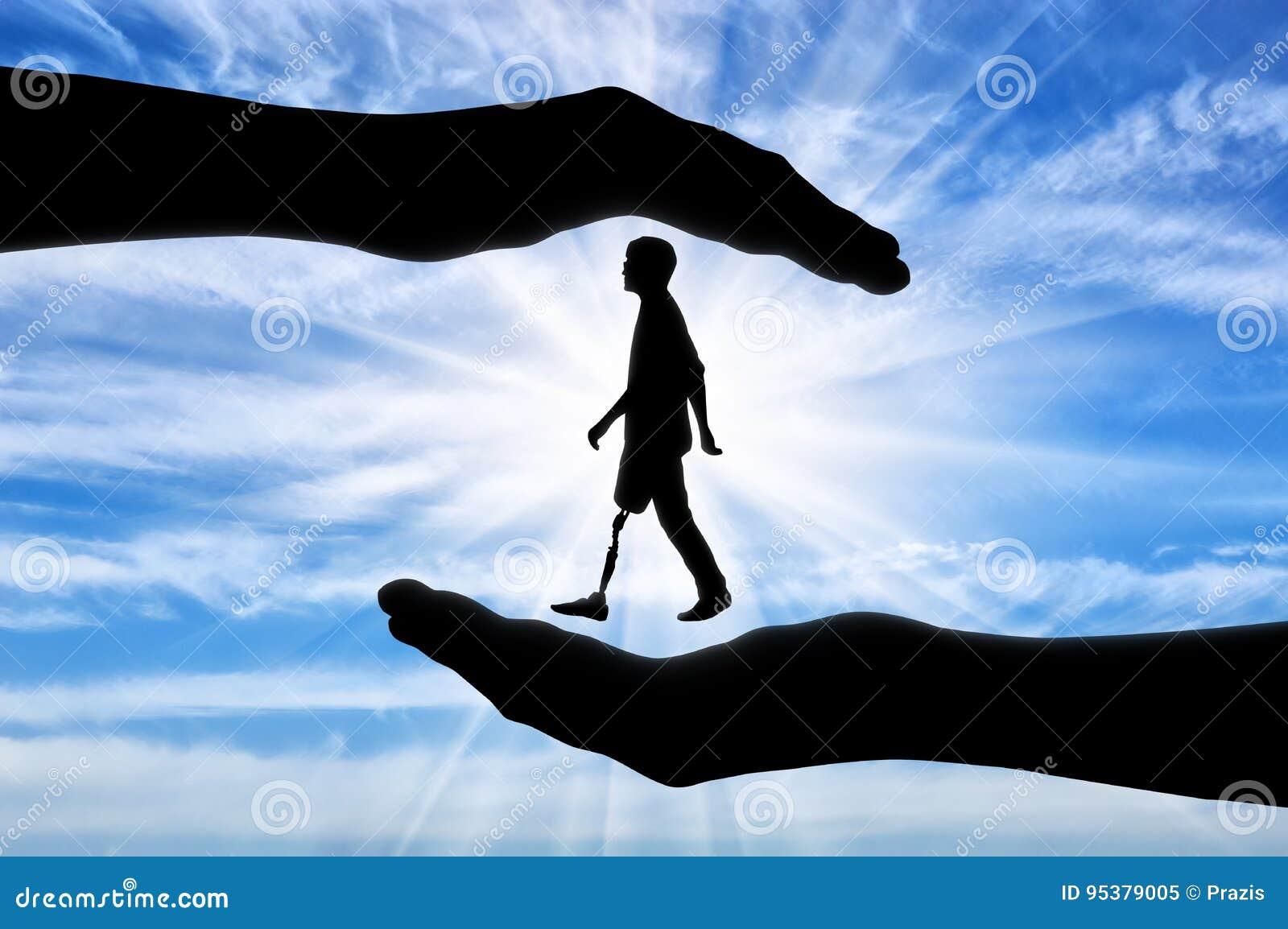 Έννοια της ενίσχυσης και της προσοχής για τα άτομα με ειδικές ανάγκες