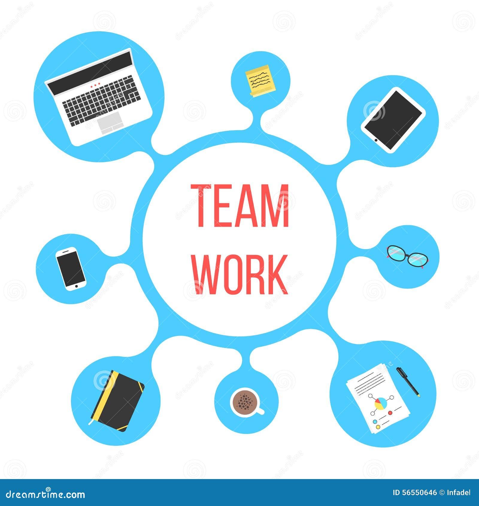 Download Έννοια της εργασίας ομάδων με την μπλε φυσαλίδα Διανυσματική απεικόνιση - εικονογραφία από συνεδρίαση, συσκευή: 56550646