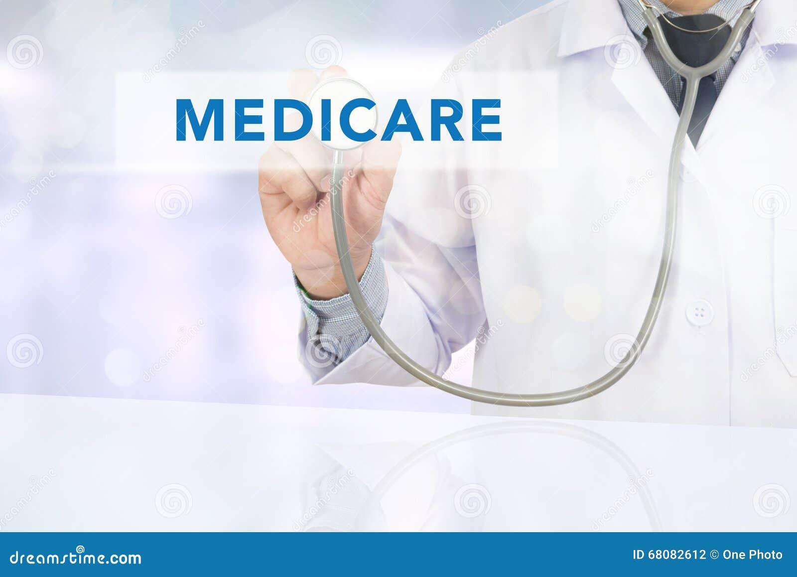 Έννοια υγείας - MEDICARE