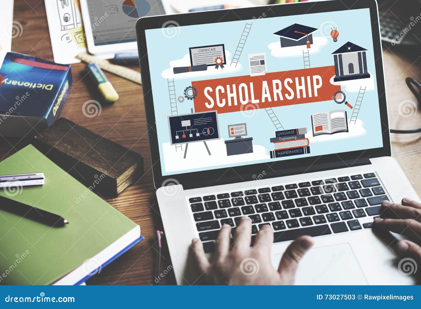 Έννοια χρημάτων δανείου εκπαίδευσης κολλεγίου ενίσχυσης υποτροφιών