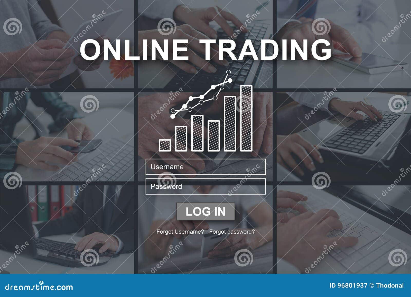 Έννοια on-line να κάνει εμπόριο