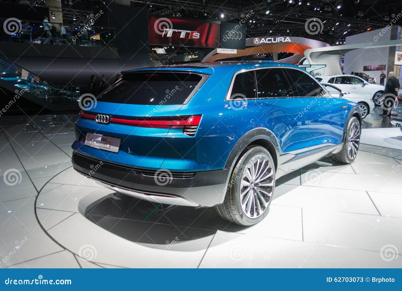 Έννοια quattro Audi ε -ε-tron
