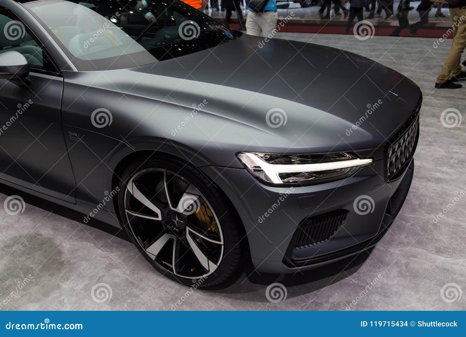 Έξοχο αυτοκίνητο αθλητικής έννοιας