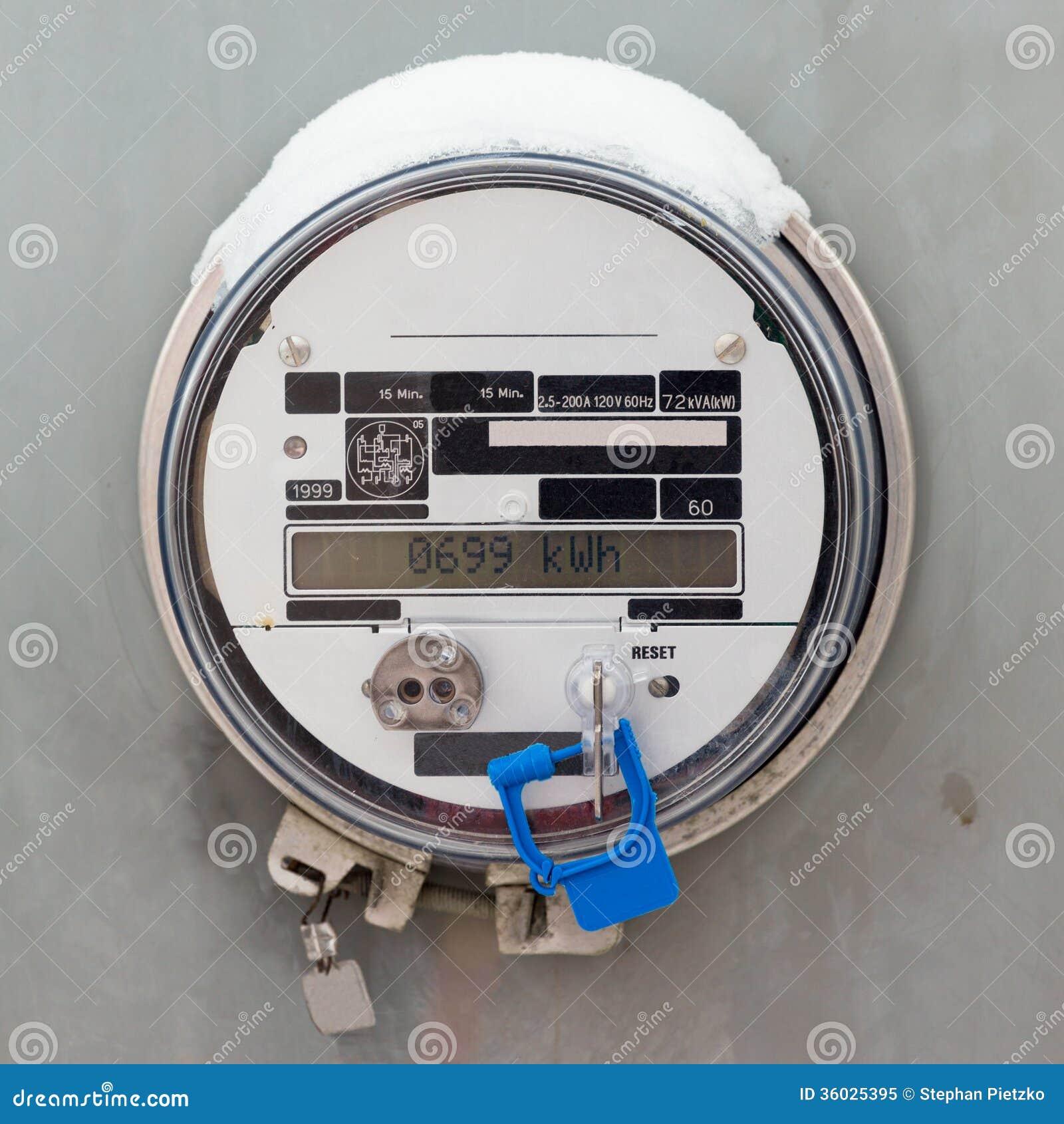Έξυπνος μετρητής παροχής ηλεκτρικού ρεύματος πλέγματος κατοικημένος ψηφιακός
