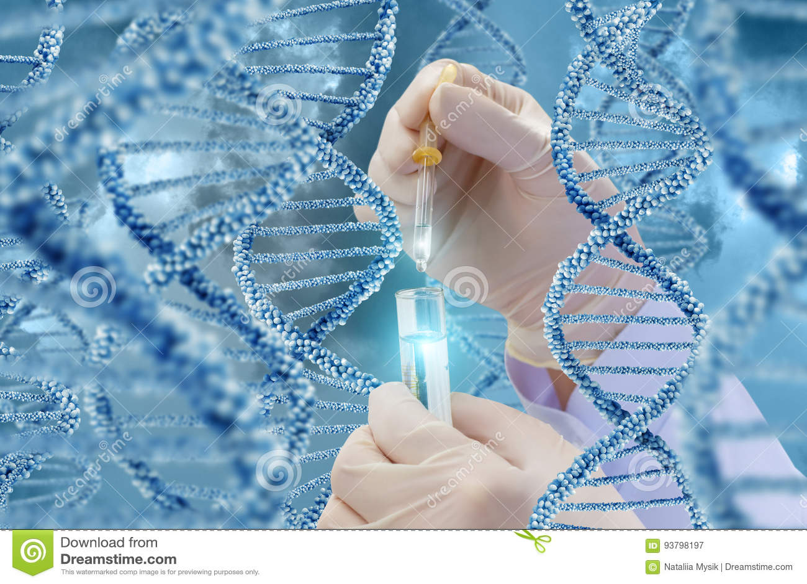 Έρευνα DNA με ένα δείγμα