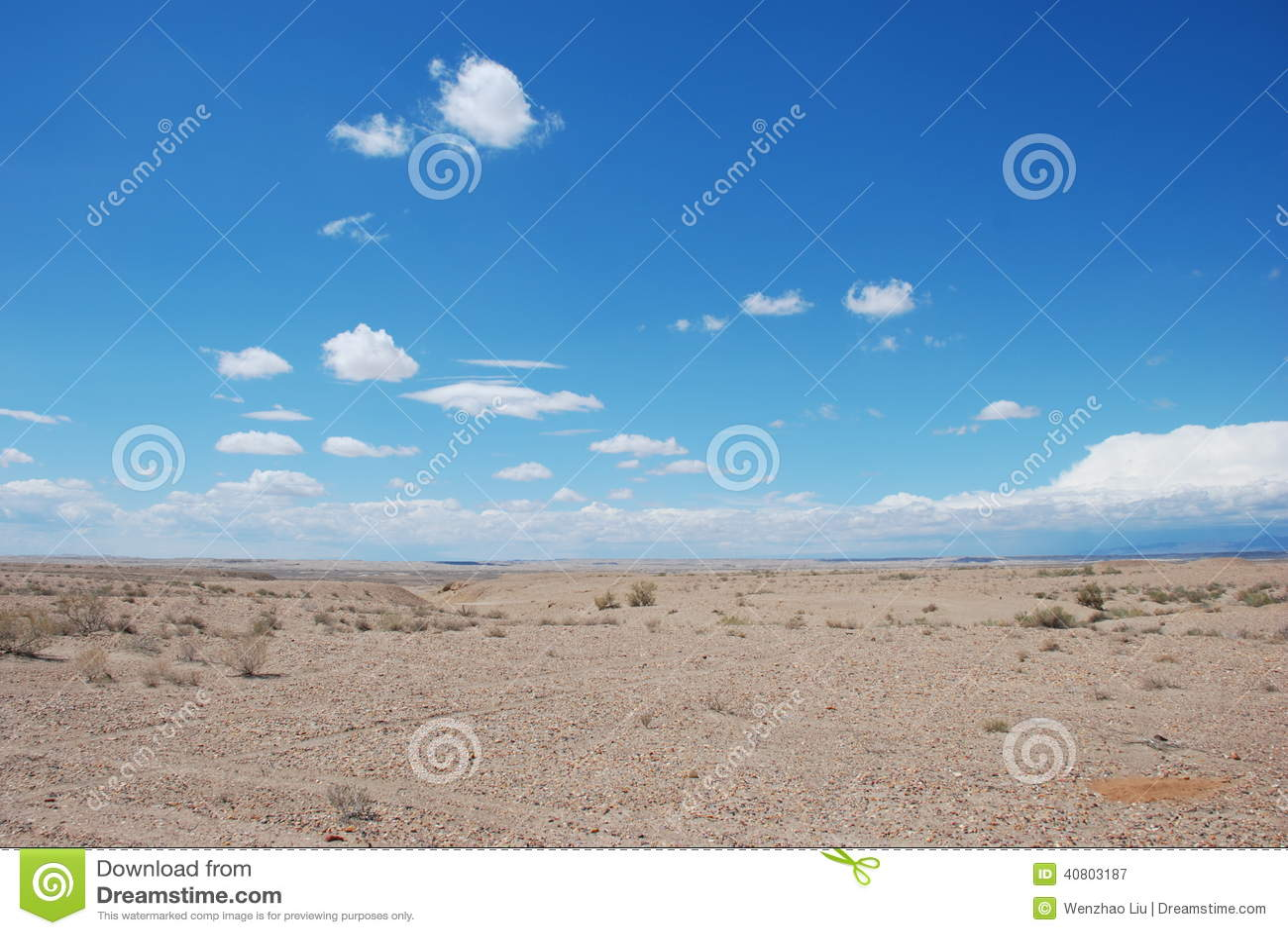 Έρημος σε Xinjiang
