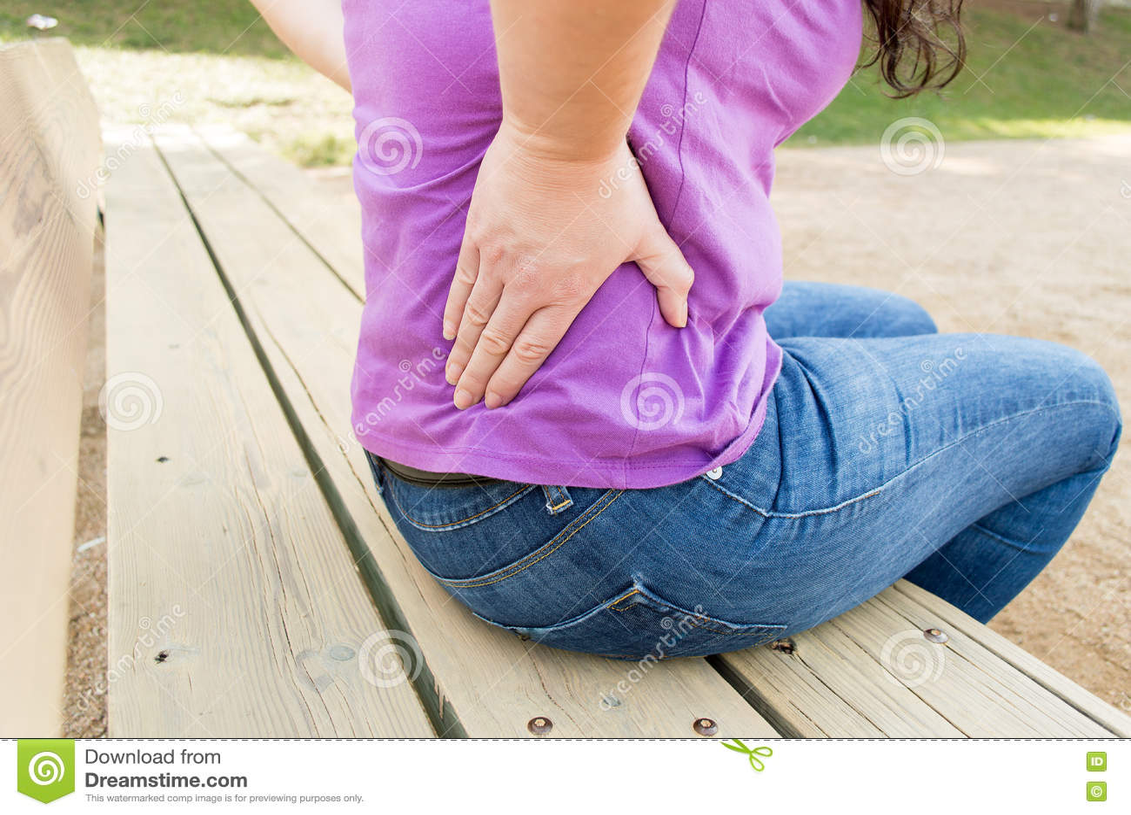 Έχω έναν μεγάλο πόνο στην πλάτη μου