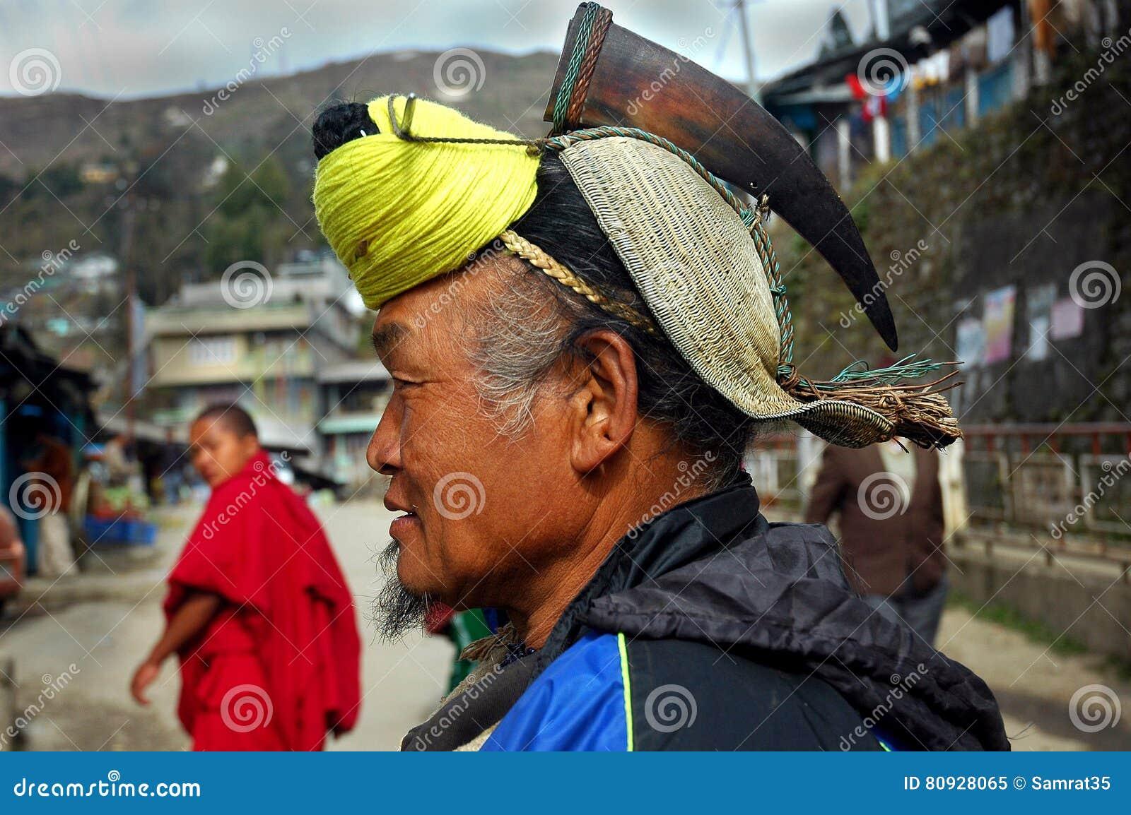 Έδαφος & άνθρωποι Arunachal στην Ινδία