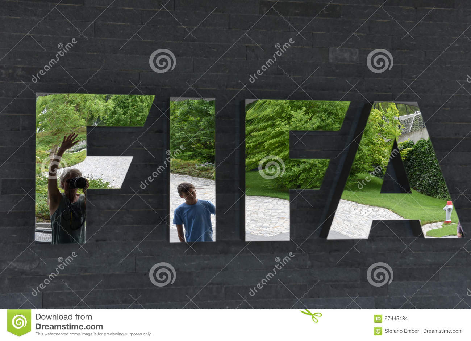 Έδρα της FIFA στη Ζυρίχη στην Ελβετία