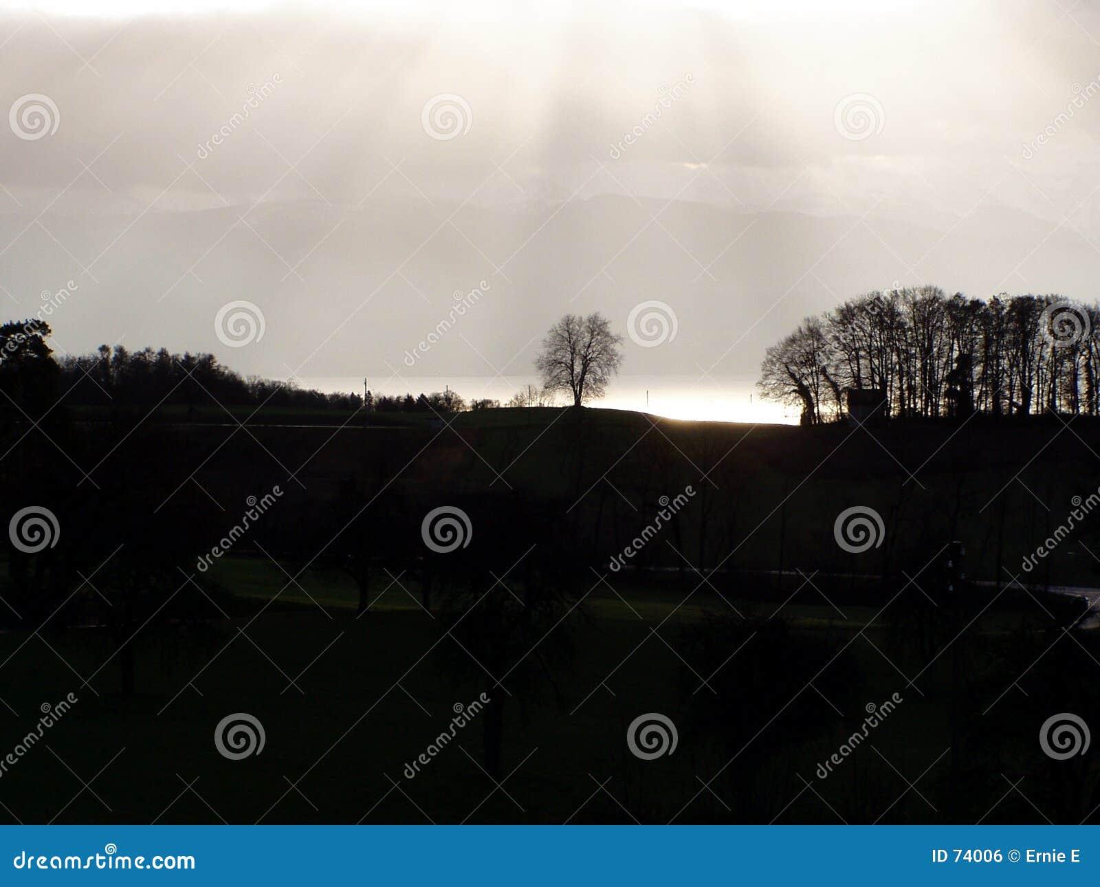 ήλιος ελαφριάς ομίχλης &epsil