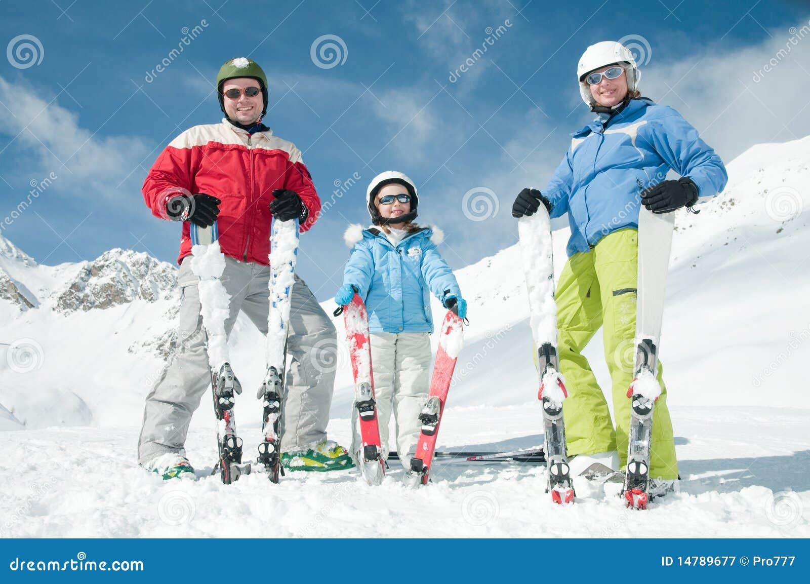 ήλιος χιονιού σκι διασκέ