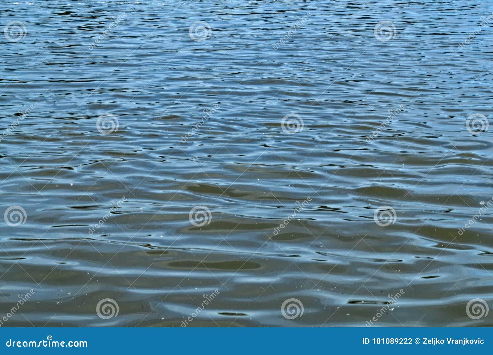 Ήρεμα κύματα νερού σε Δούναβη