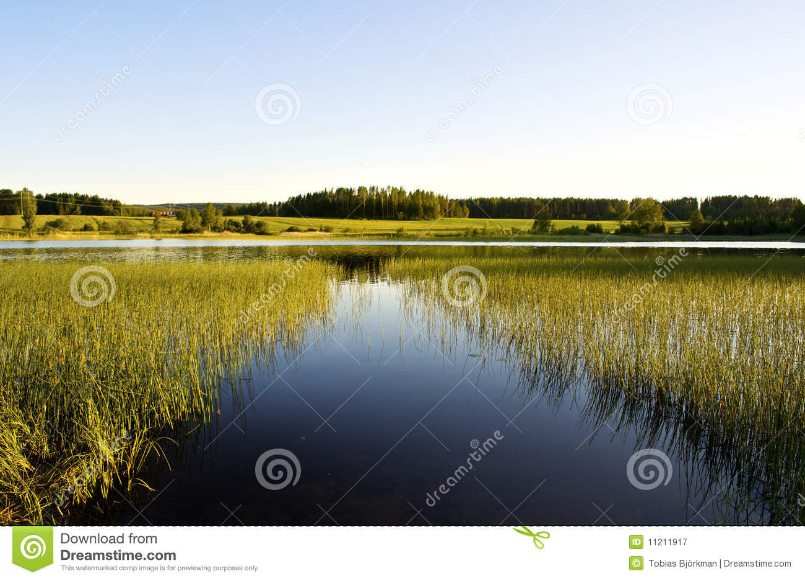 ήρεμη λίμνη