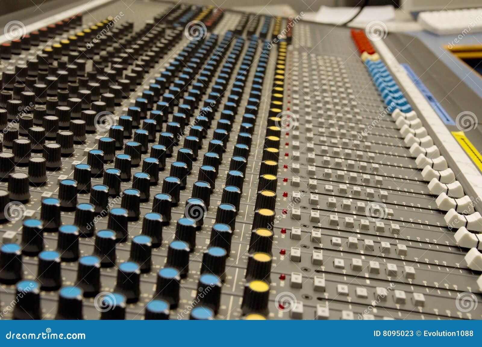 ήχος μουσικής αναμικτών