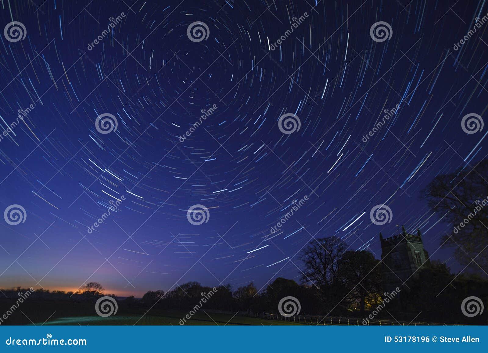 Ίχνη αστεριών - αστρονομία