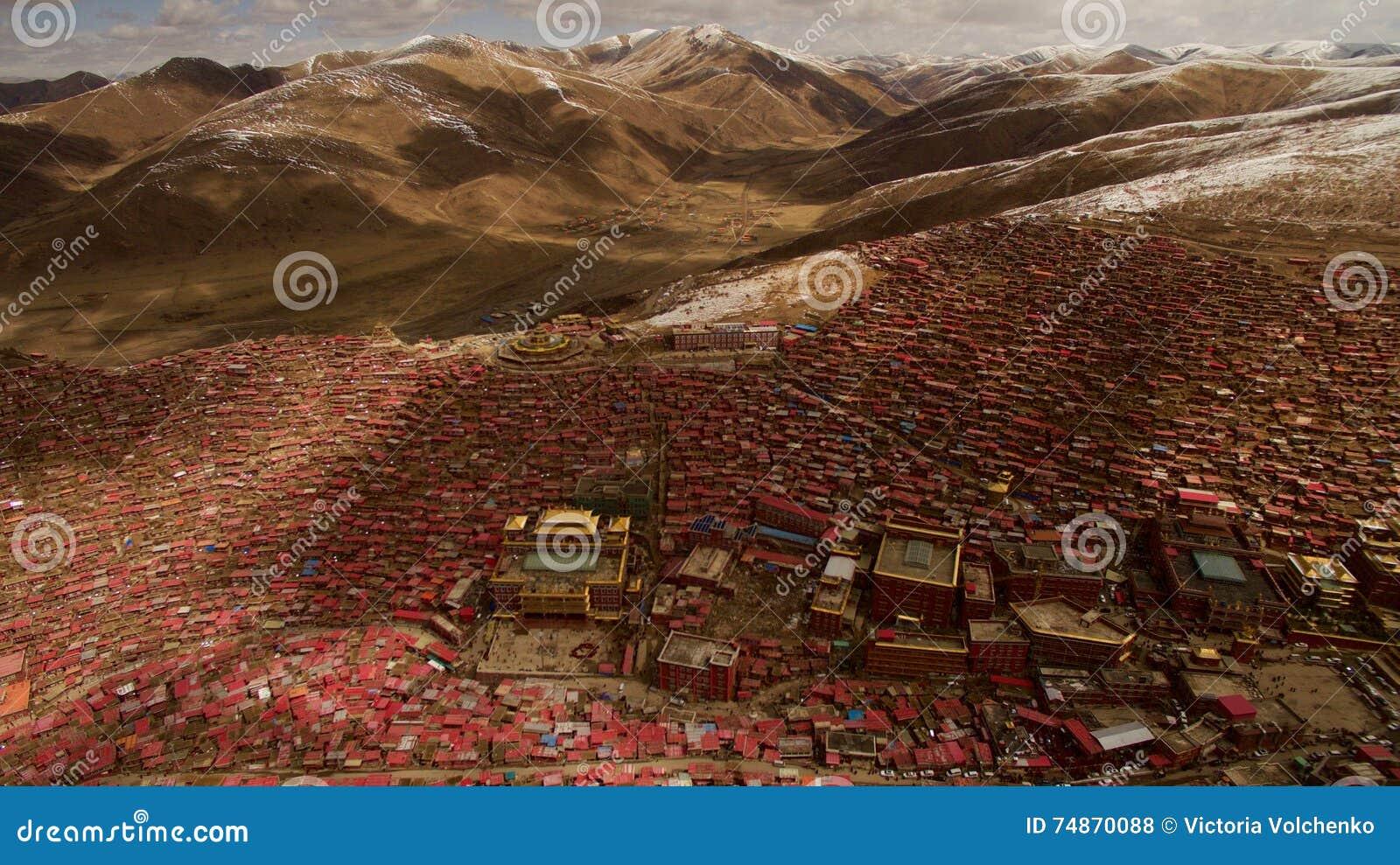 Ίδρυμα βουδισμού στο Θιβέτ