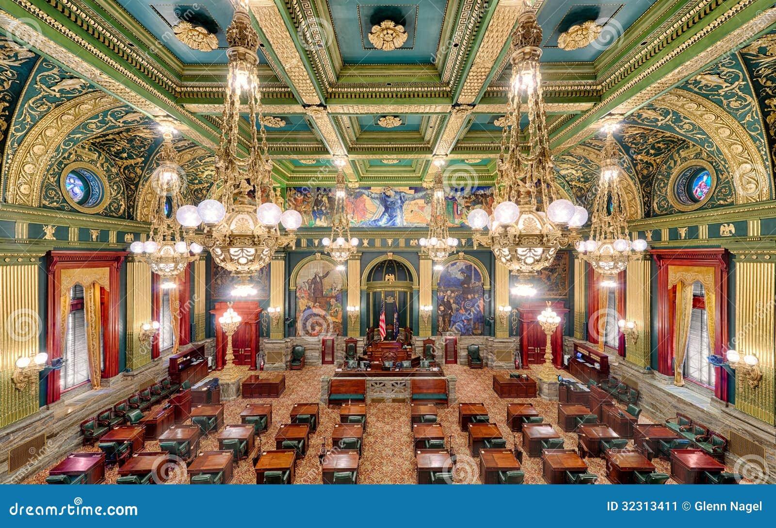 Αίθουσα κρατικής Συγκλήτου της Πενσυλβανίας