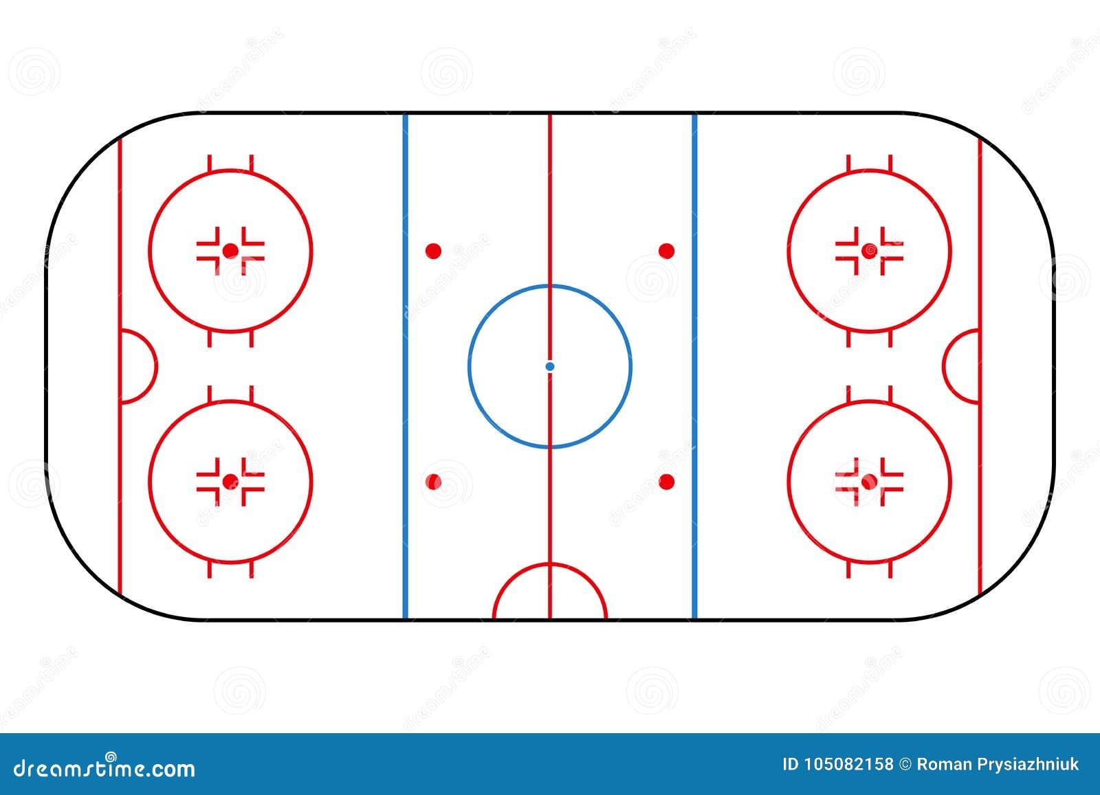 Αίθουσα παγοδρομίας χόκεϋ πάγου Τομέας υποβάθρου προτύπων για την αθλητικές στρατηγική και την αφίσα διάνυσμα