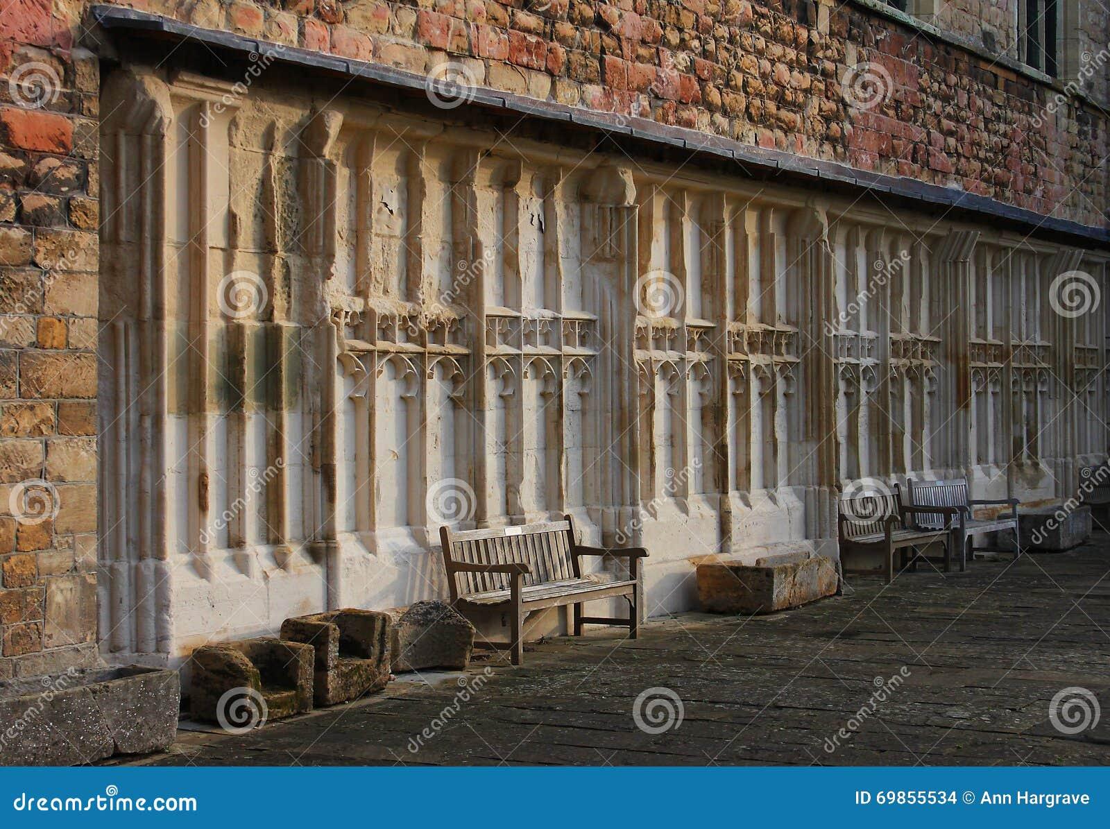 Αβαείο Tewkesbury, Αγγλία, αρχιτεκτονική λεπτομέρεια