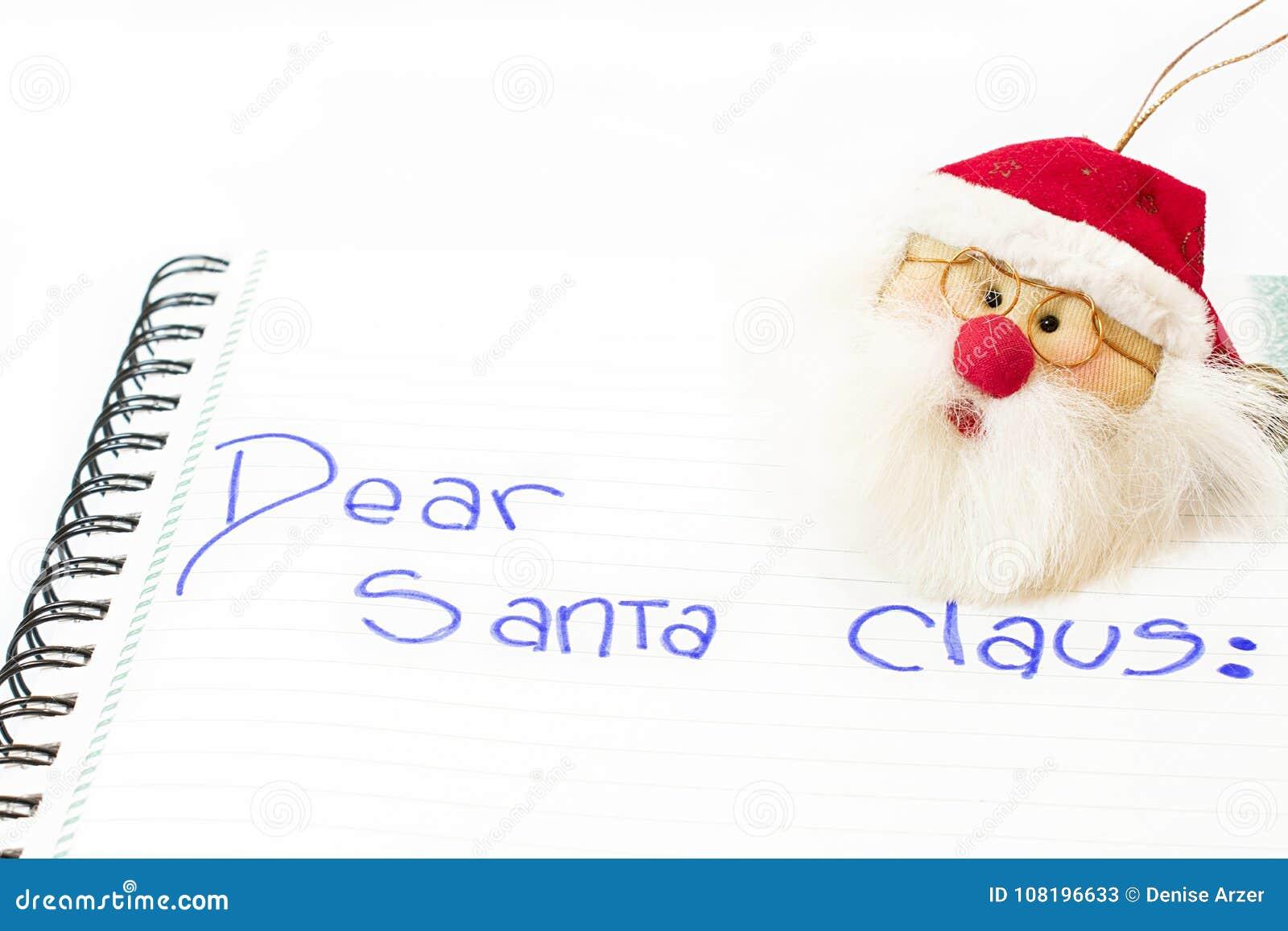 αγαπητό santa Claus