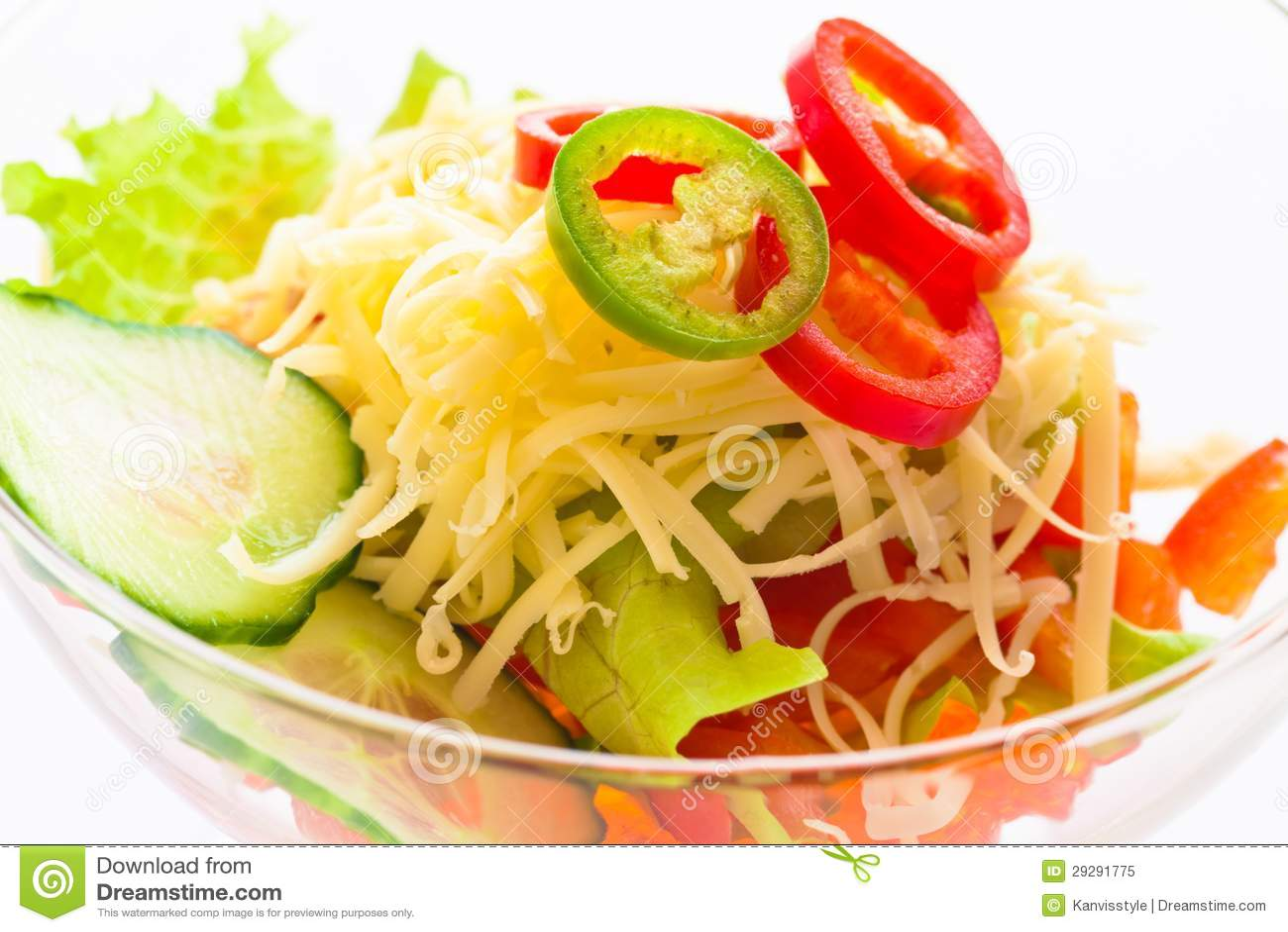 Αγγούρι, ντομάτα, τυρί και ρόδι λαχανικών σαλάτας