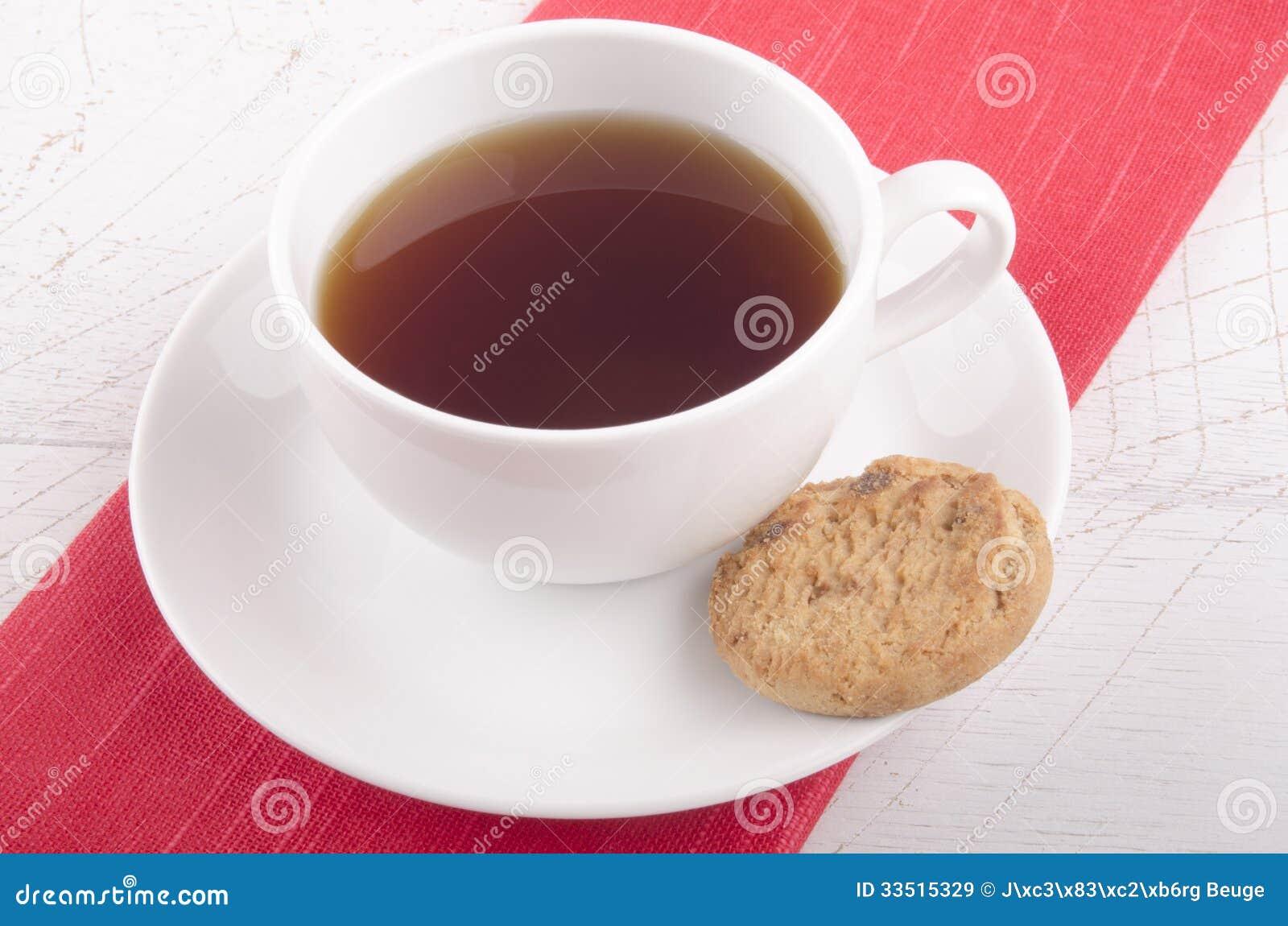 Αγγλικό τσάι προγευμάτων σε ένα φλυτζάνι