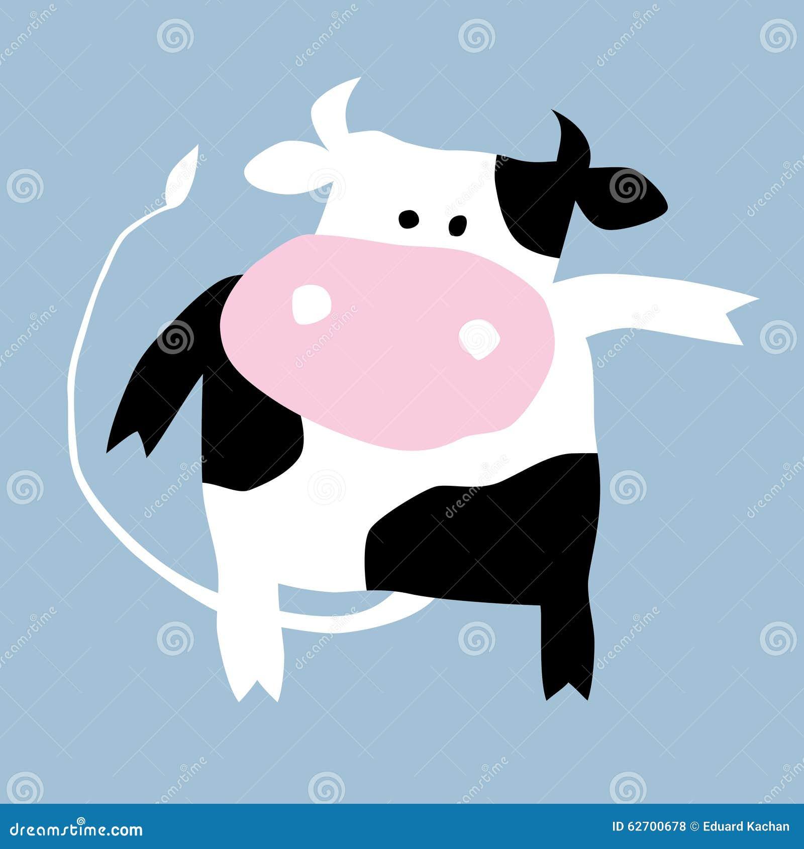Αγελάδα κινούμενων σχεδίων