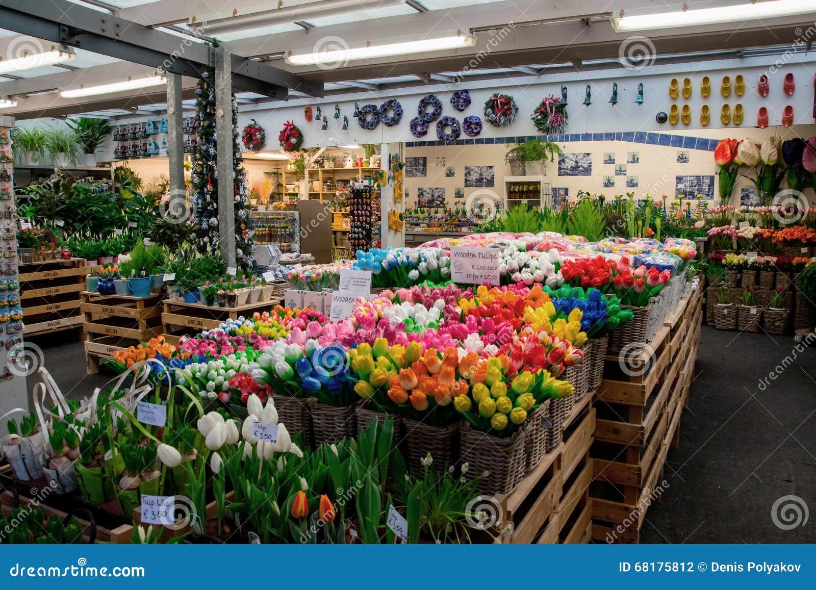 Αγορά λουλουδιών του Άμστερνταμ (Bloemenmarkt)