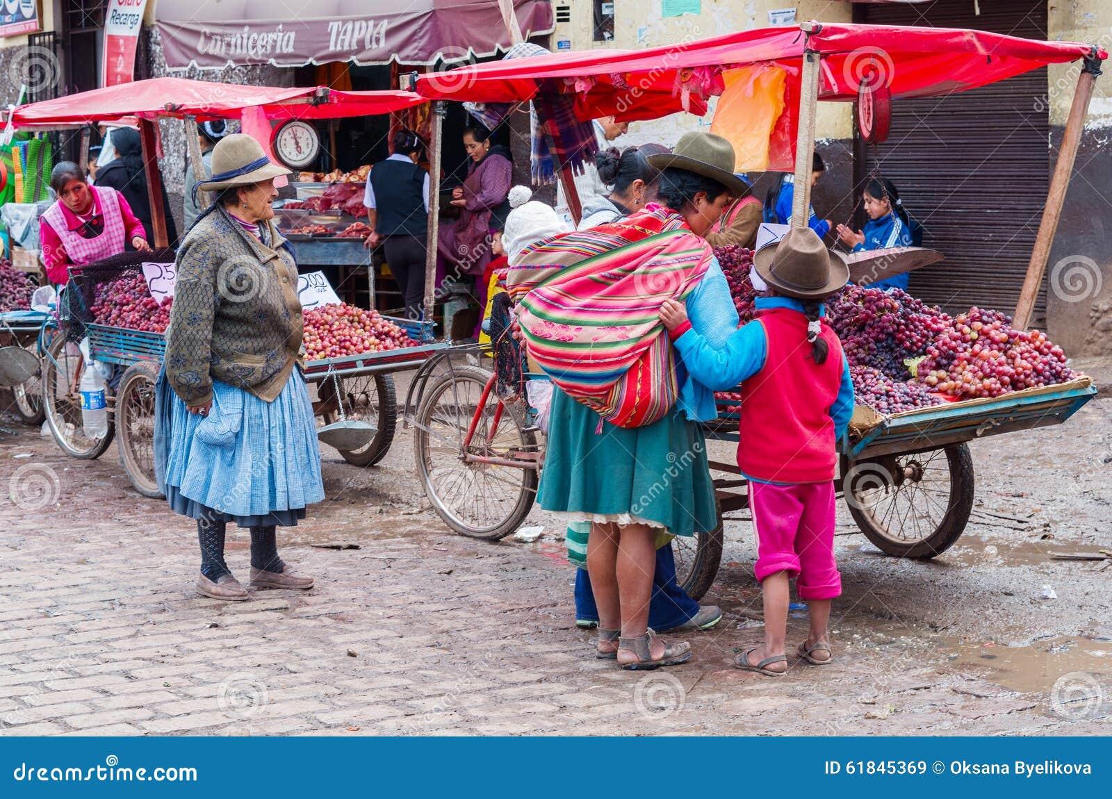 Αγορά σε Cusco, Περού