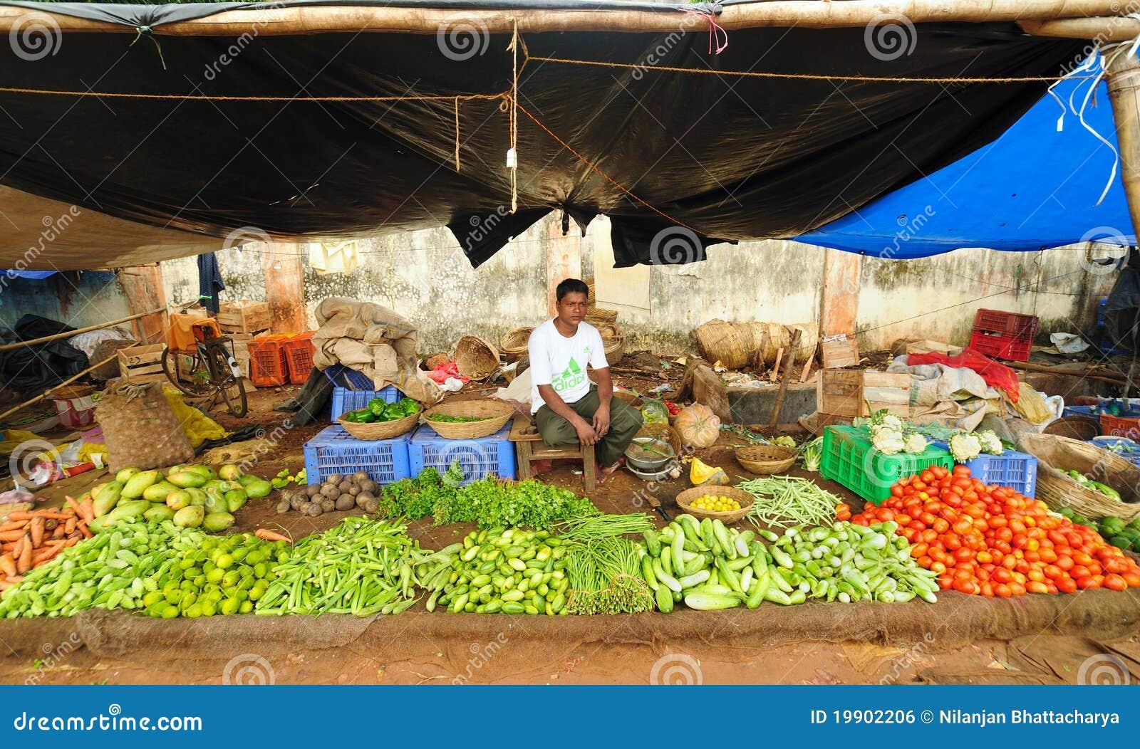 αγορά της Ινδίας αγροτών